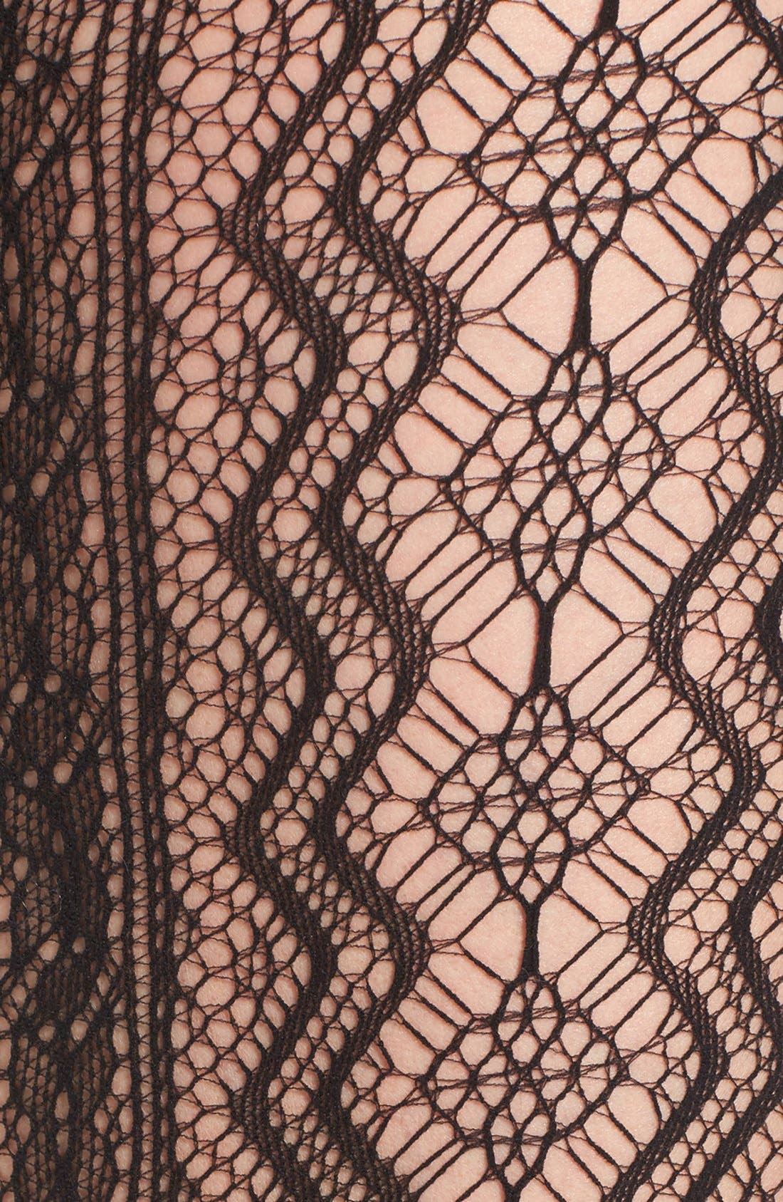 Alternate Image 2  - Hue Vertical Diamond Net Tights