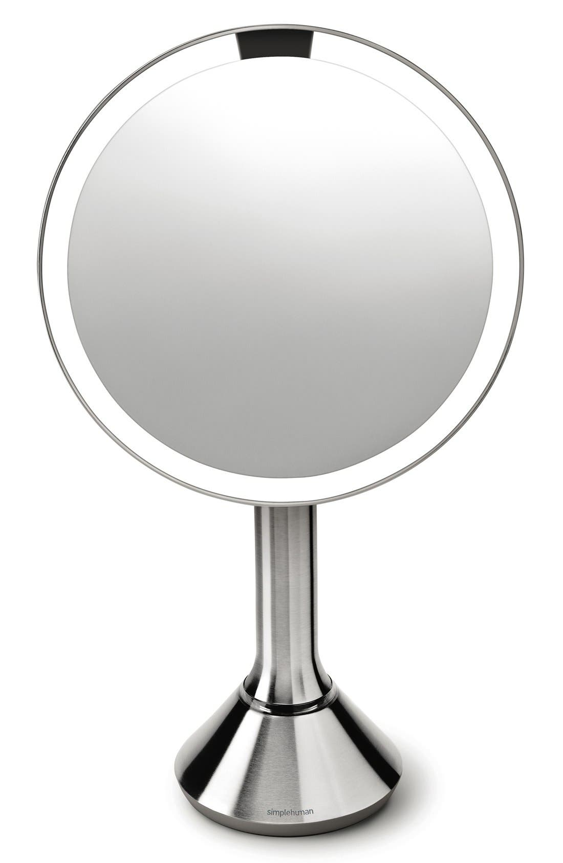 Alternate Image 3  - simplehuman Countertop Sensor Makeup Mirror (8 Inch)