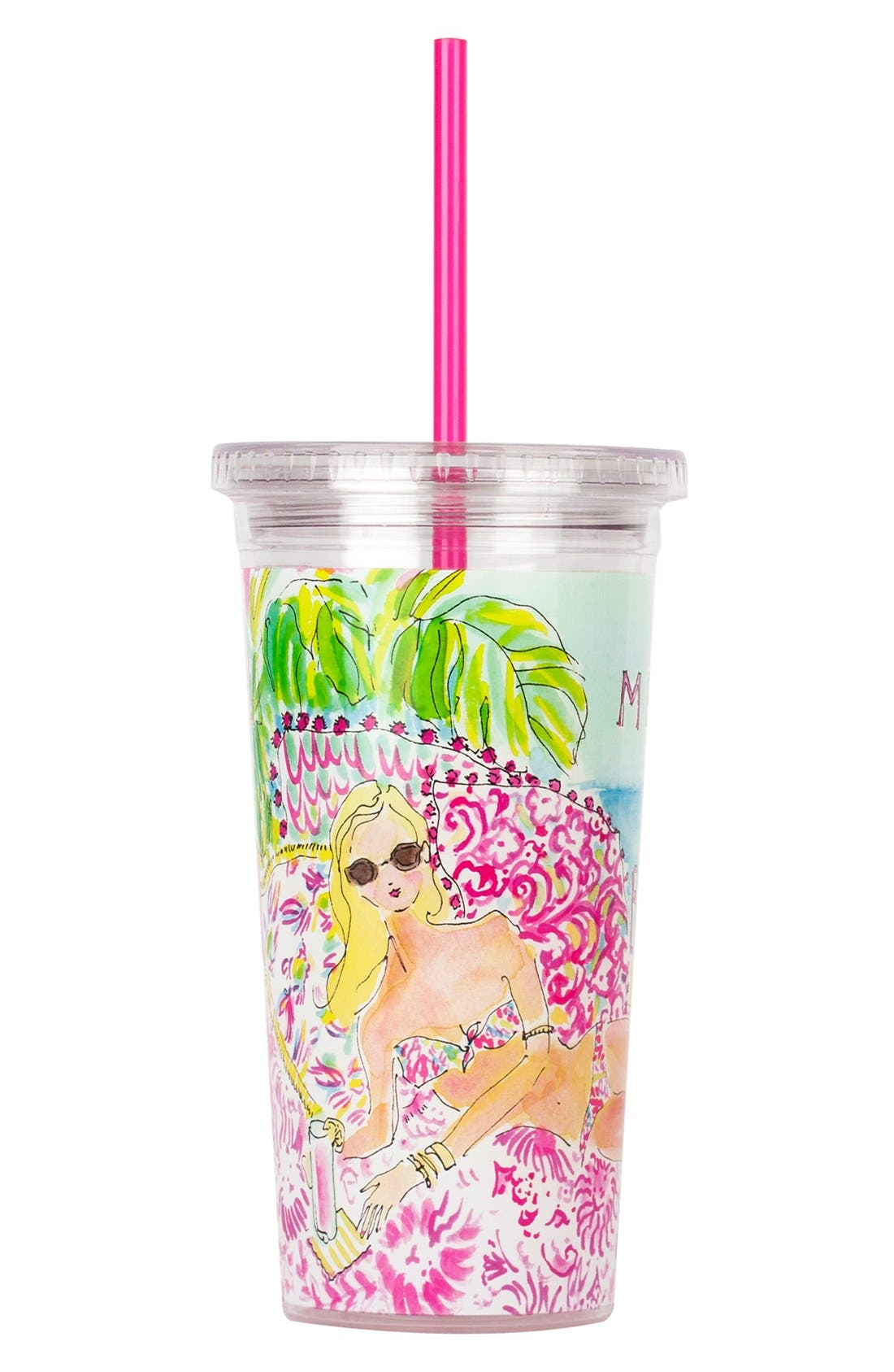 Alternate Image 3  - Lilly Pulitzer® Cold Drink Tumbler