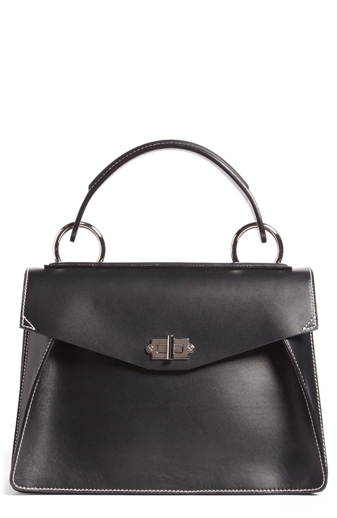 Alternate Image 1 Selected - Proenza Schouler 'Medium Hava' Top Handle Calfskin Leather Satchel