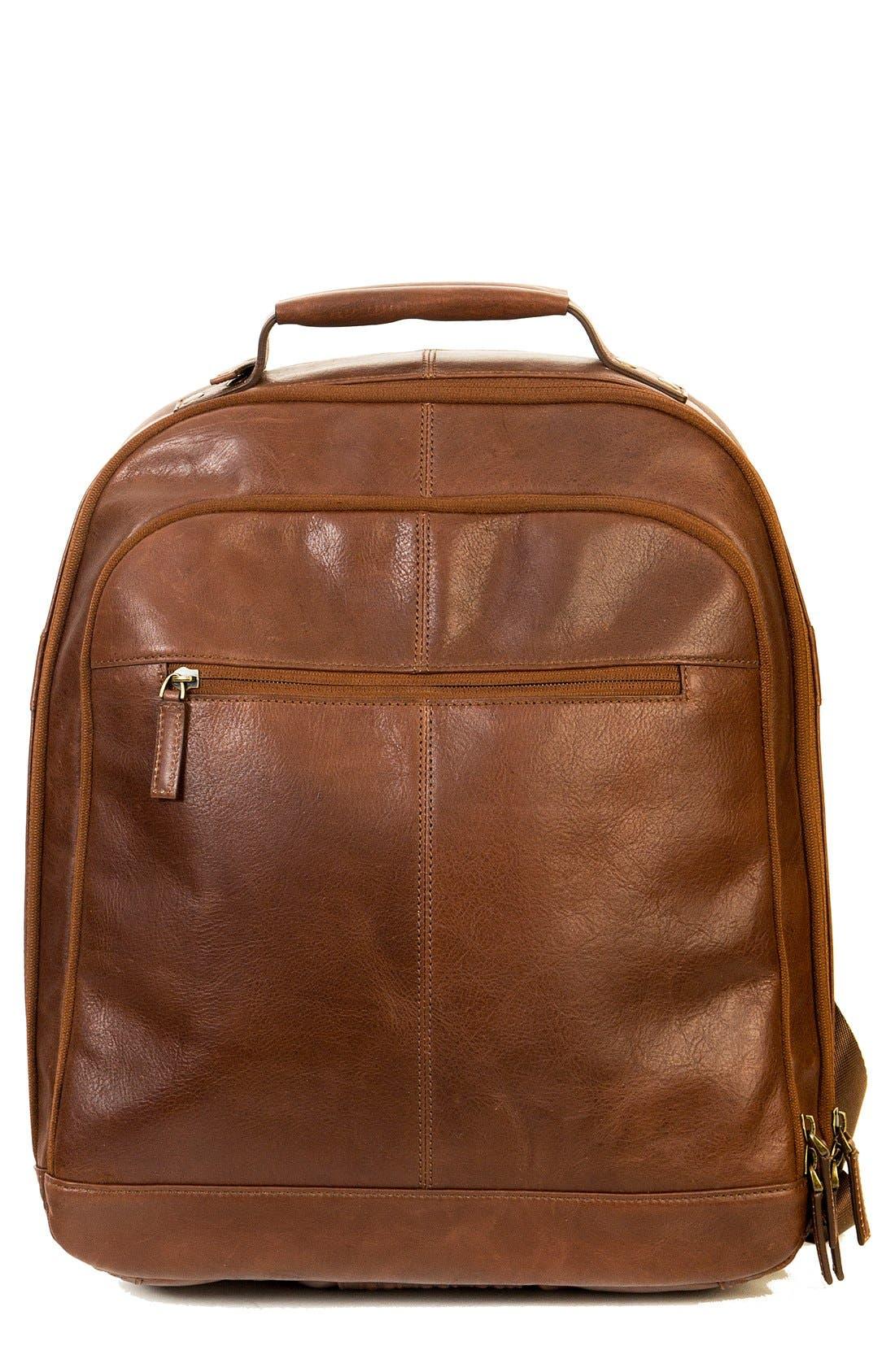 Boconi 'Becker' Leather Backpack