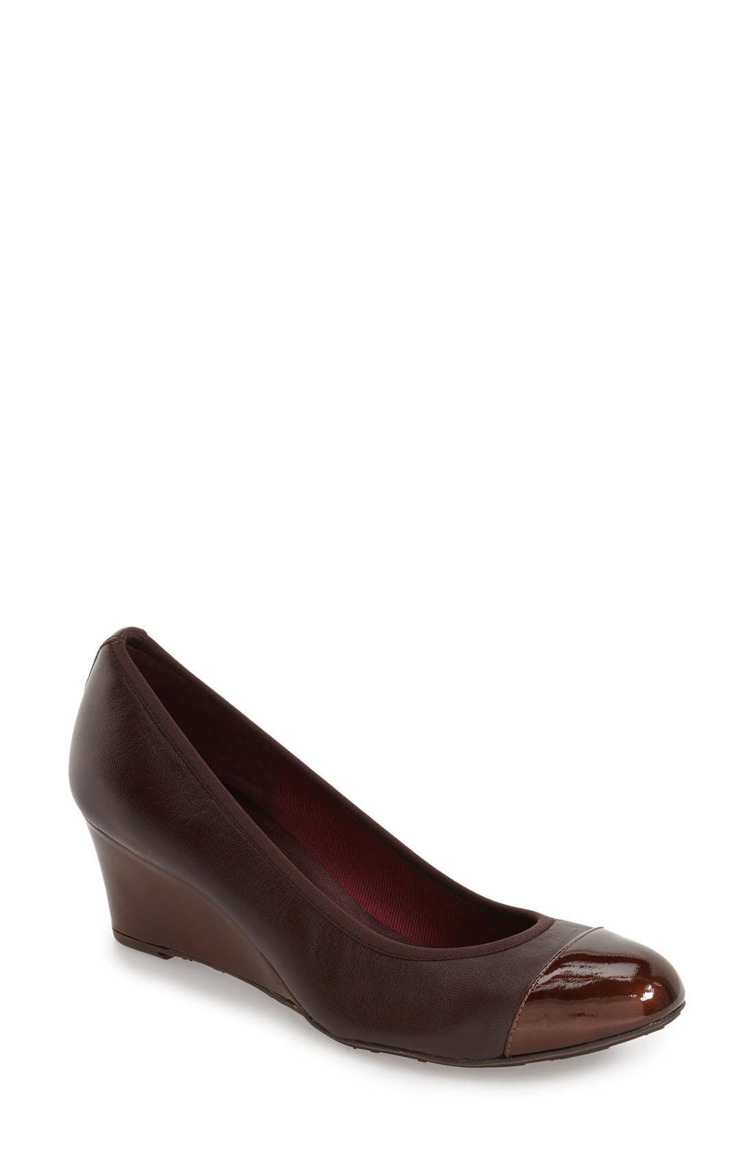 Alternate Image 1 Selected - French Sole 'Juggle' Wedge Pump