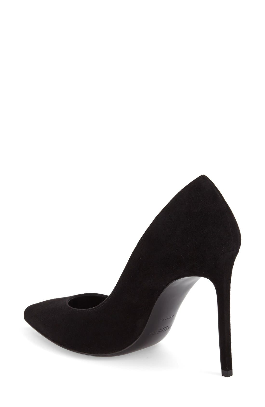 Alternate Image 5  - Saint Laurent 'Paris Skinny' Pointy Toe Pump (Women)