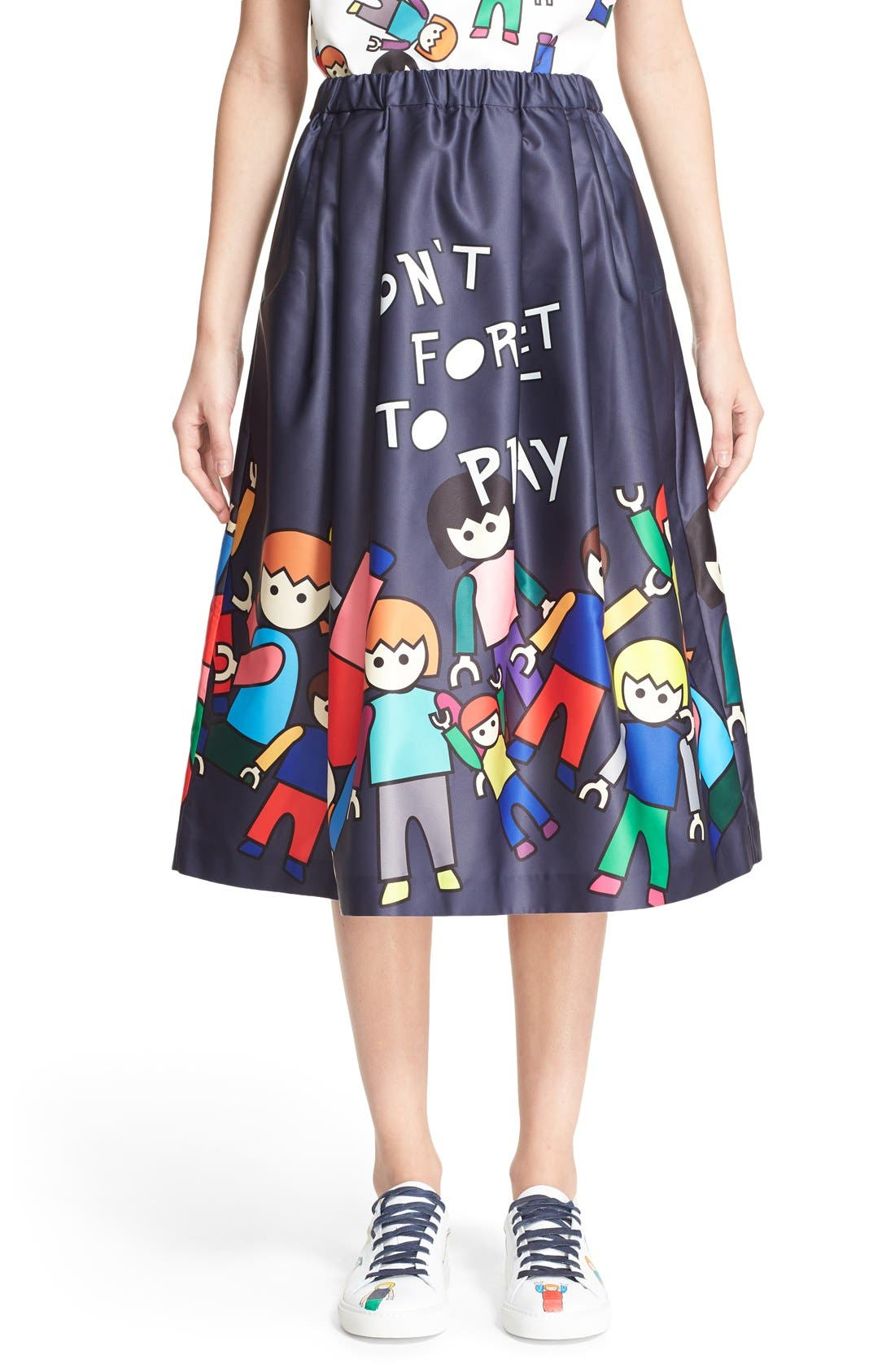 Main Image - Mira Mikati 'Little People' Skirt (Nordstrom Exclusive)