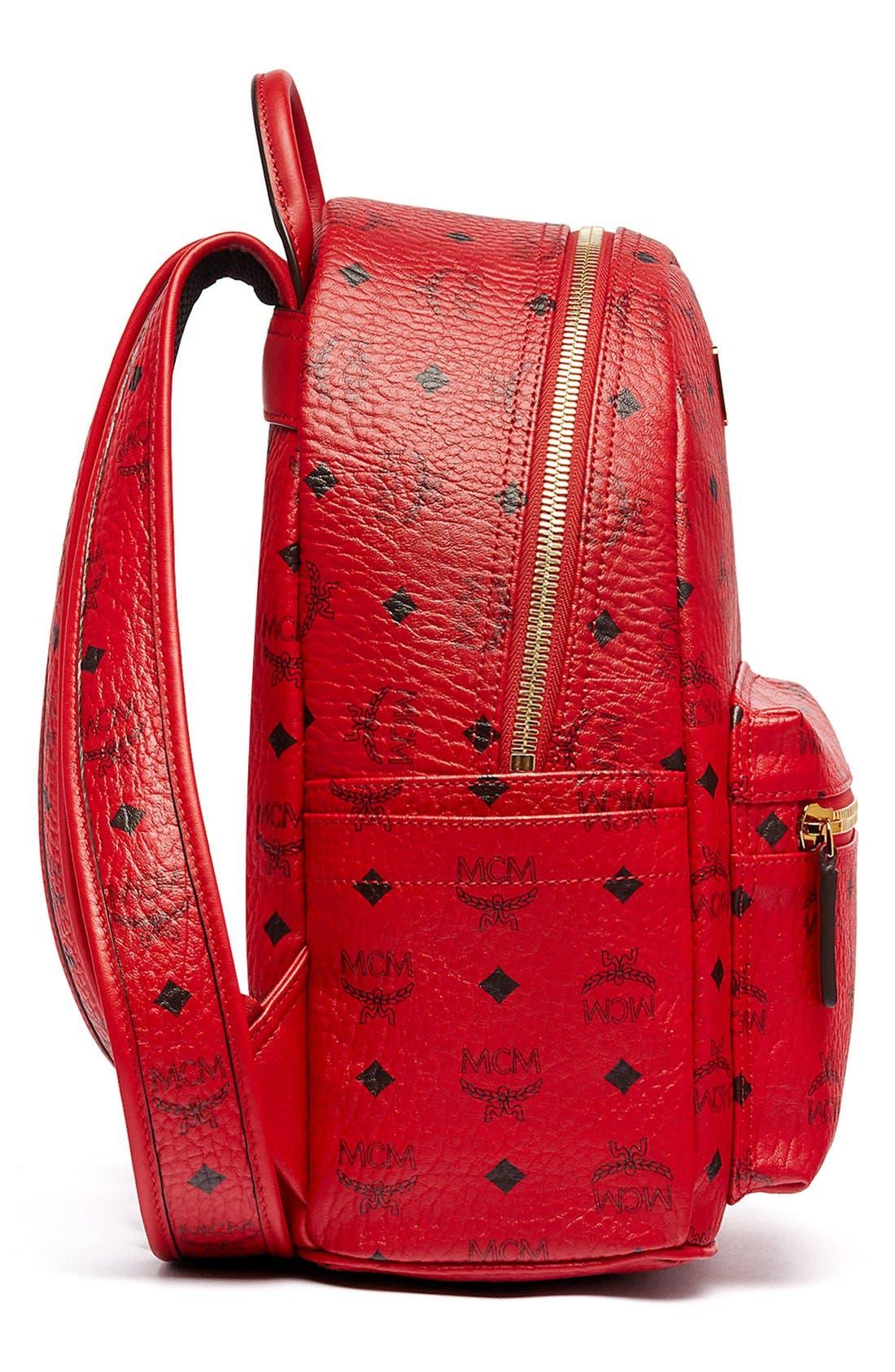 Alternate Image 6  - MCM 'Small Stark' Coated Canvas Backpack