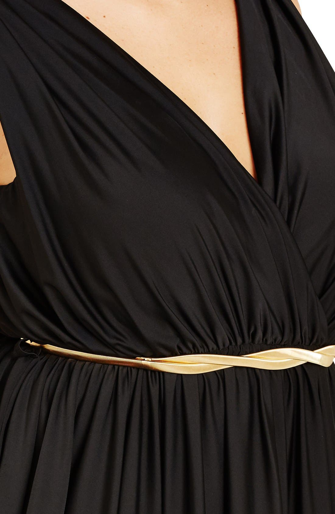 Alternate Image 3  - City Chic 'Athena Goddess' Maxi Dress (Plus Size)