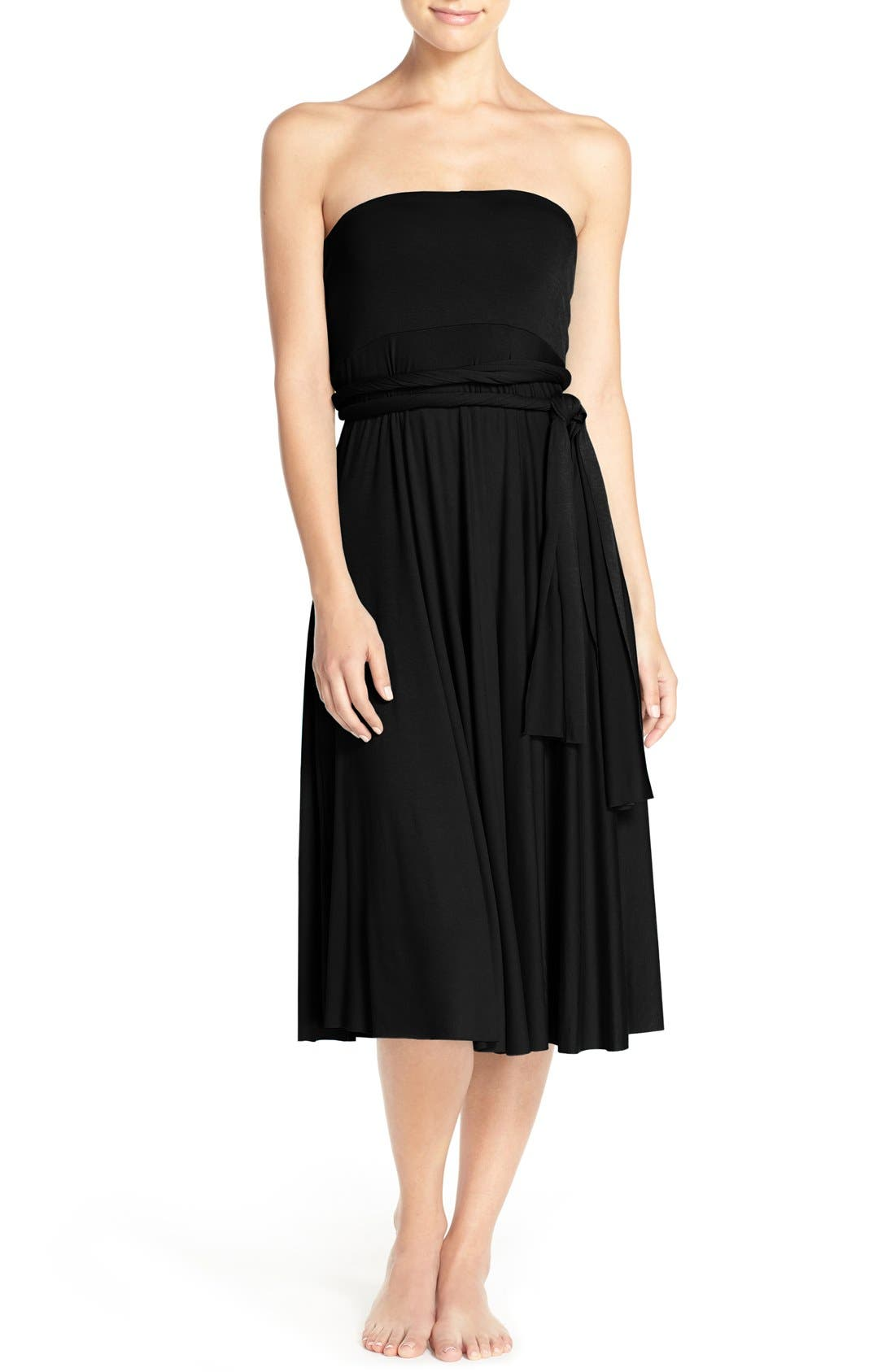 Alternate Image 5  - Elan Convertible Cover-Up Dress
