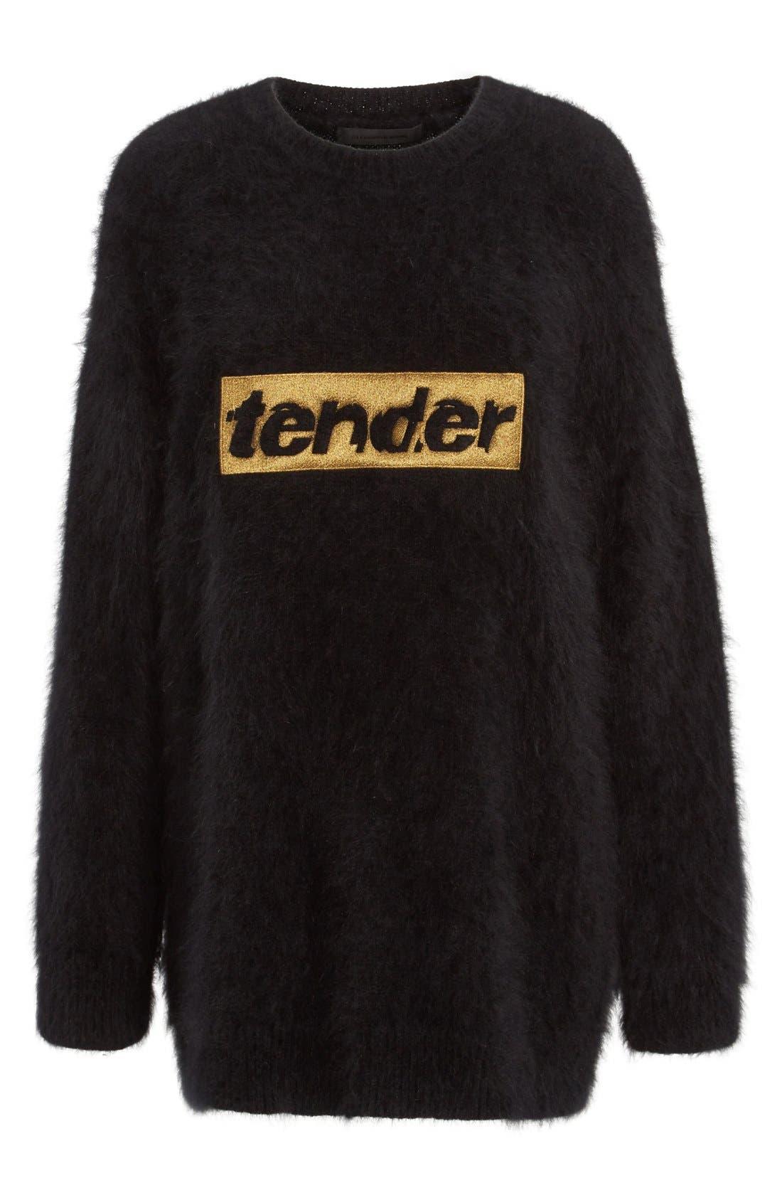 Alternate Image 4  - Alexander Wang 'Tender' Embroidered Wool Blend Sweater