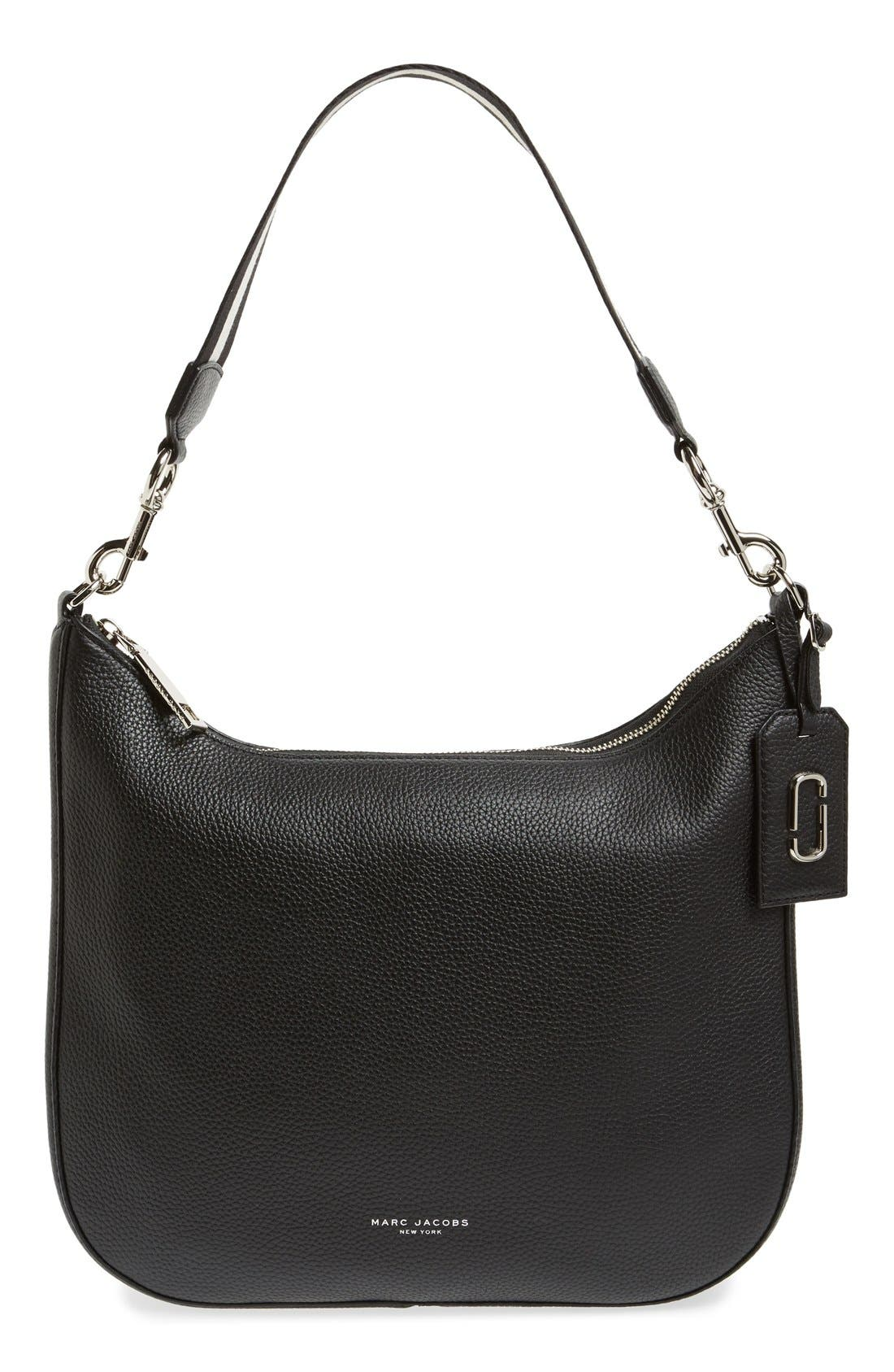 MARC JACOBS 'Gotham City' Leather Hobo