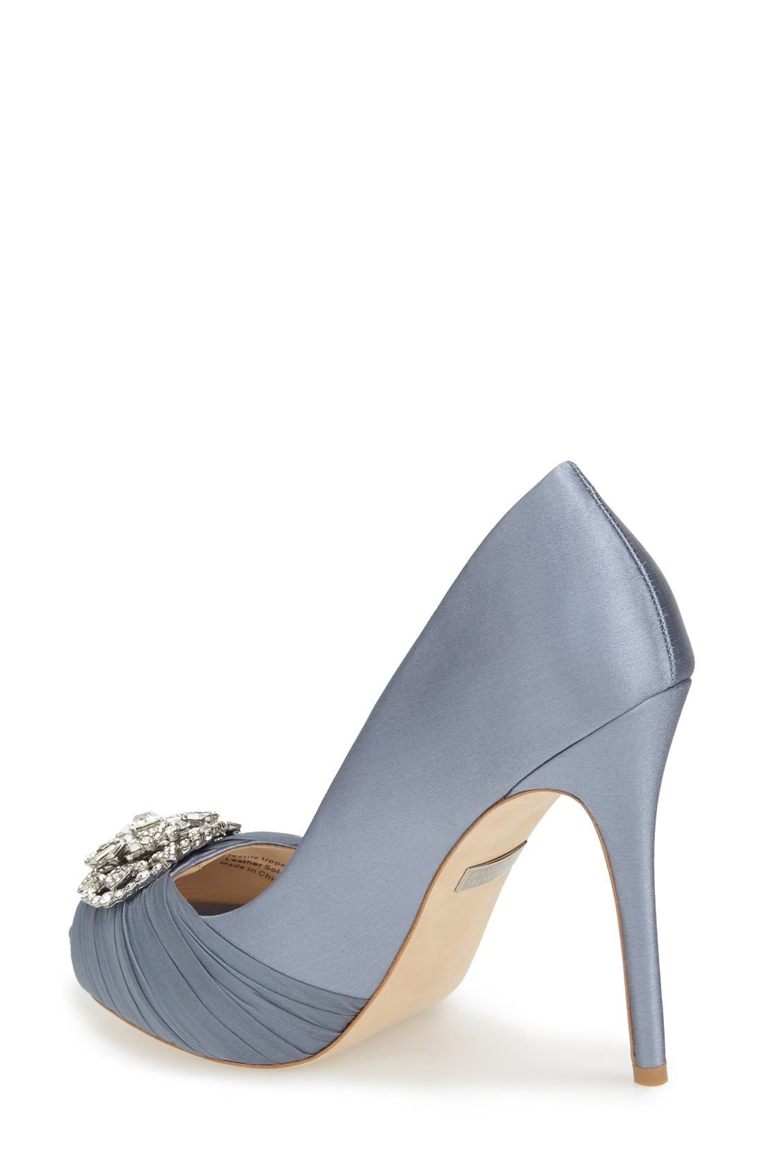 Alternate Image 2  - Badgley Mischka 'Desi' Peep Toe Platform Pump (Women)