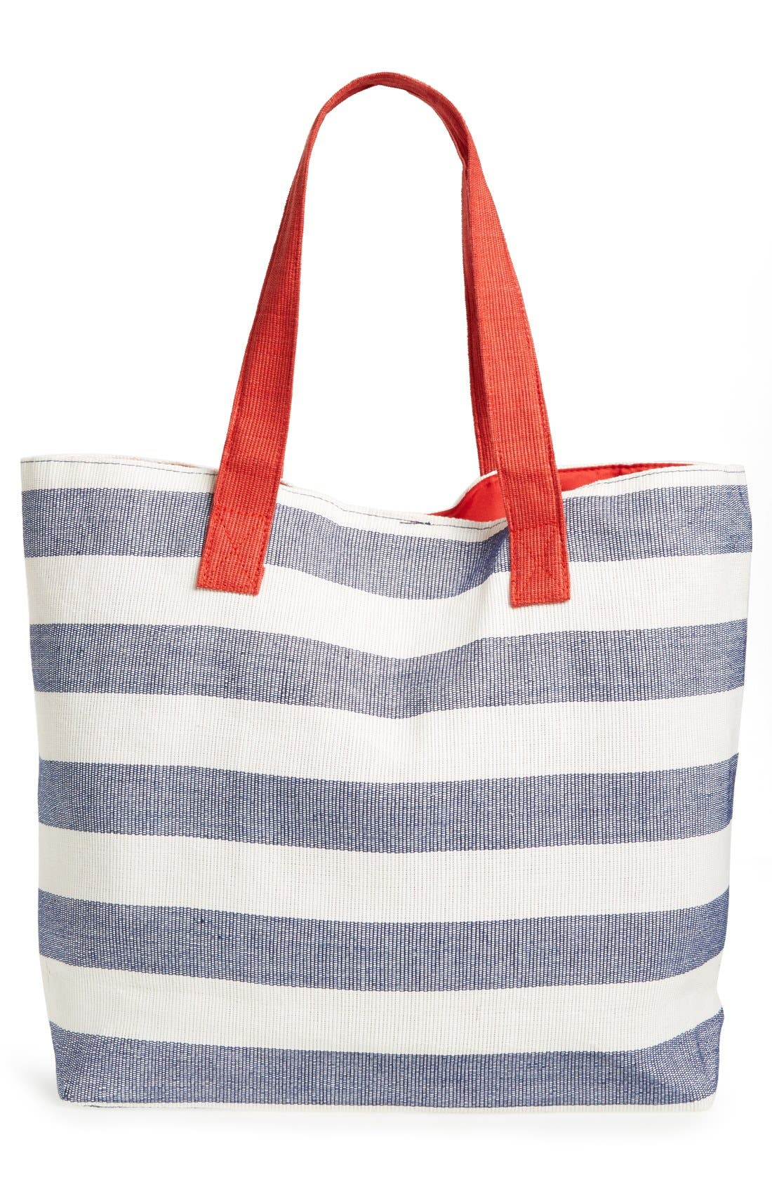 Alternate Image 3  - BP. Stripe Canvas Tote