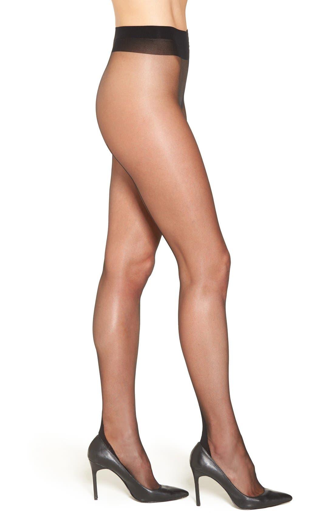 Main Image - Falke 'High Heel' Back Seam Pantyhose