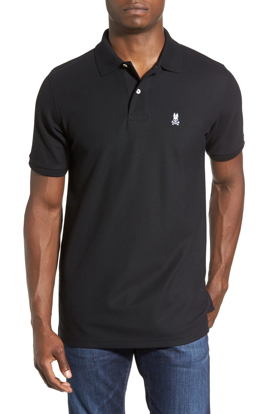 Main Image - Psycho Bunny The Classic Piqué Knit Polo