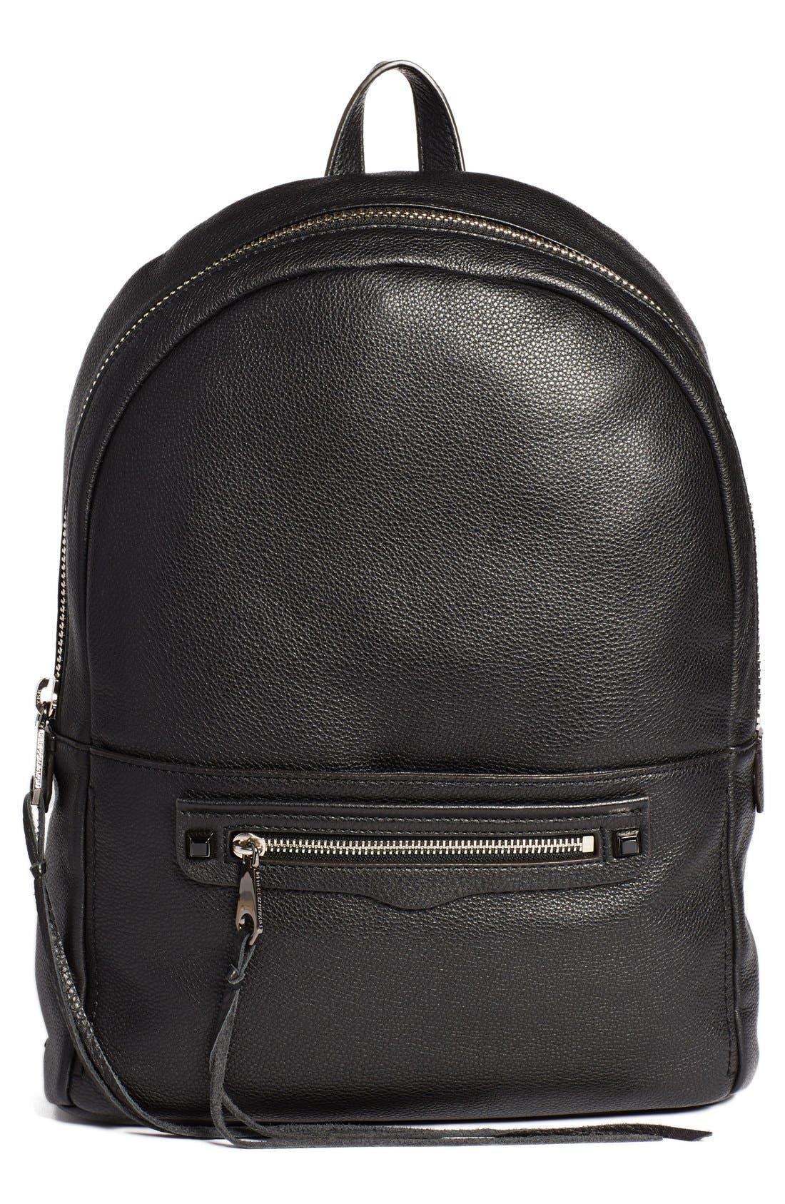 Alternate Image 1 Selected - Rebecca Minkoff 'Always On Regan' Leather Backpack