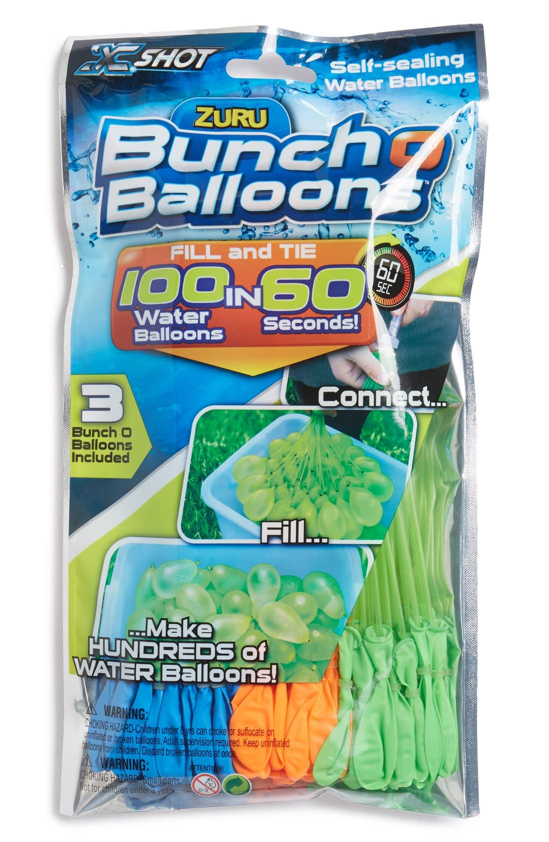 Schylling 'Bunch O' Balloons' Water Balloon Toy (3-Pack)