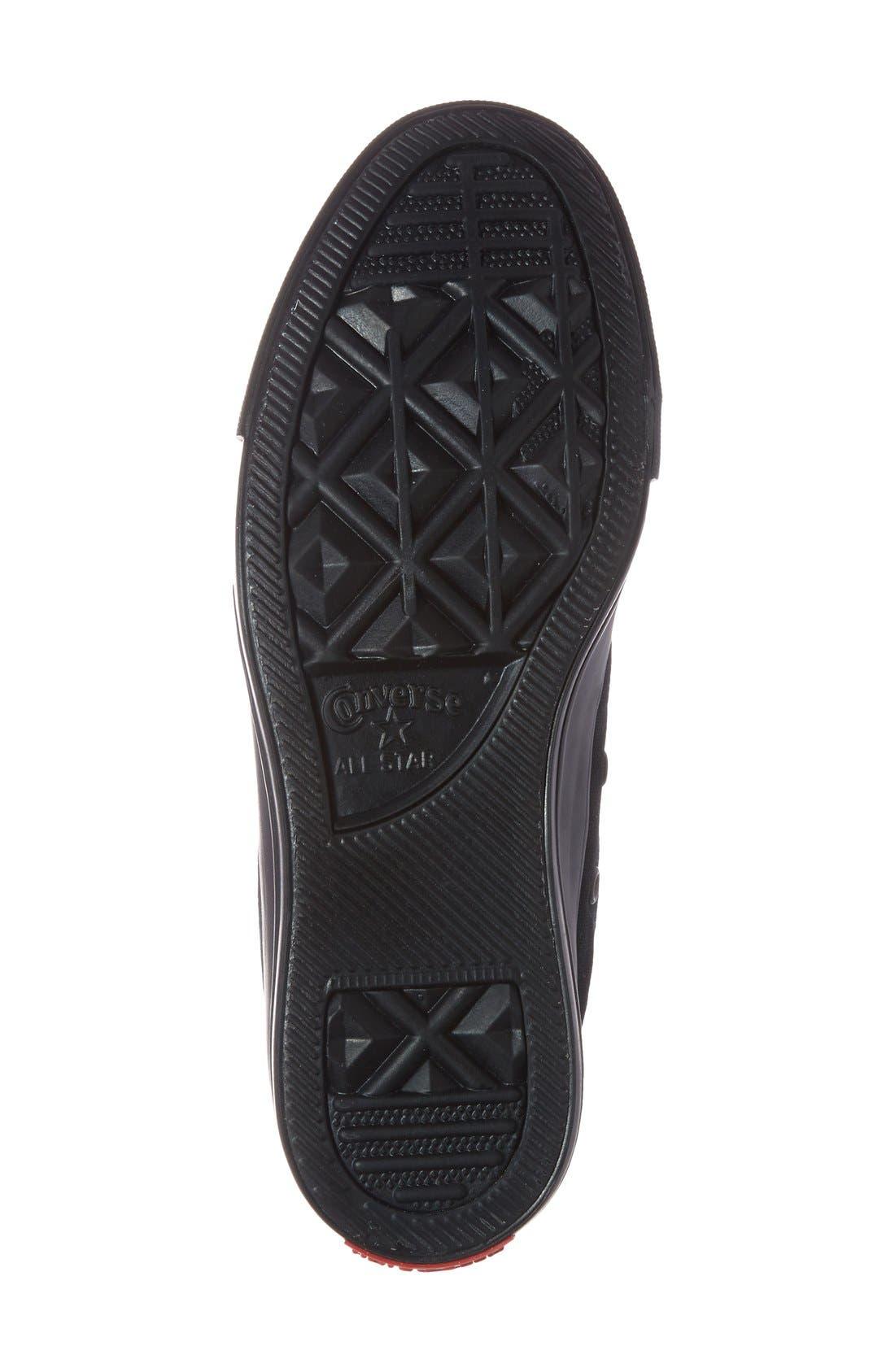 Alternate Image 4  - Converse Chuck Taylor® All Star® Flag Cap Toe High Top Sneaker (Women)