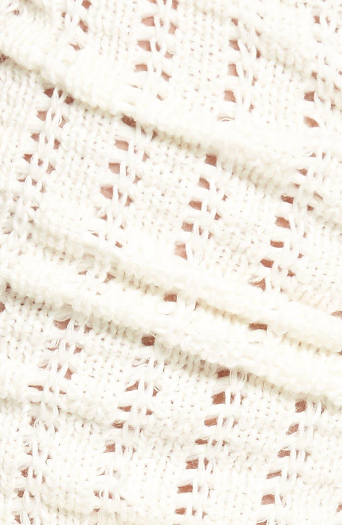 Alternate Image 2  - Hue Open Knit Leg Warmers