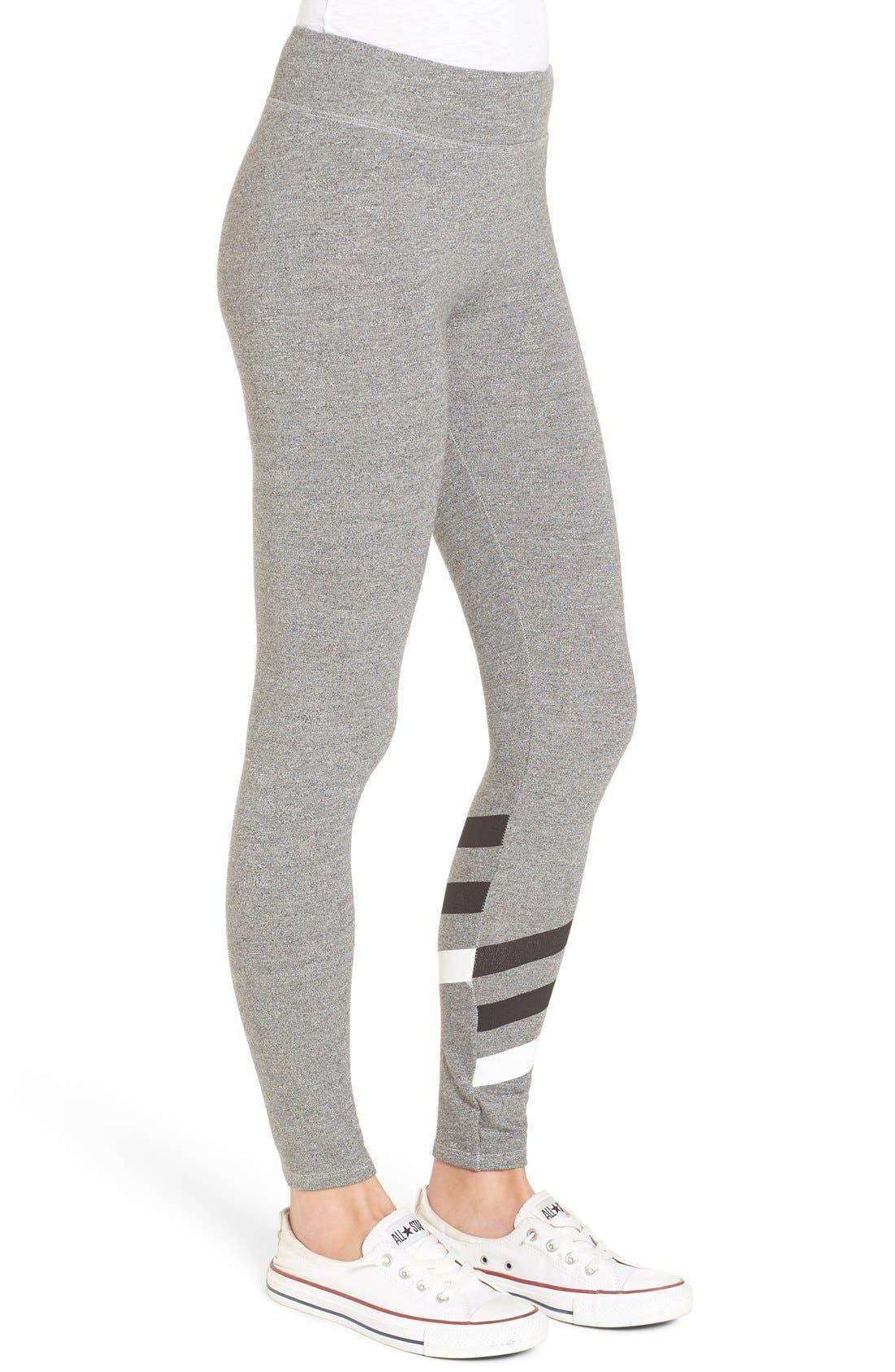 Alternate Image 3  - Sundry 'Stripes' Yoga Pants