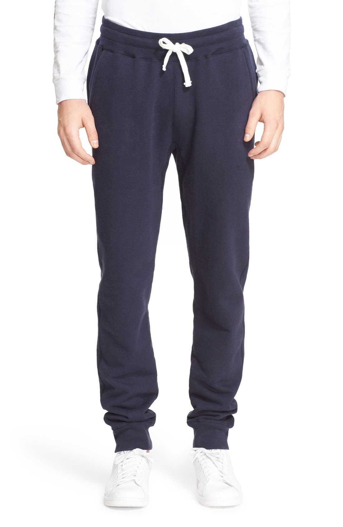 Main Image - Saturdays NYC 'Ken' French Terry Sweatpants