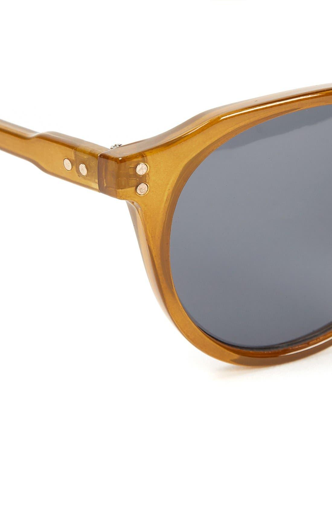 Alternate Image 2  - Topman 50mm Round Sunglasses