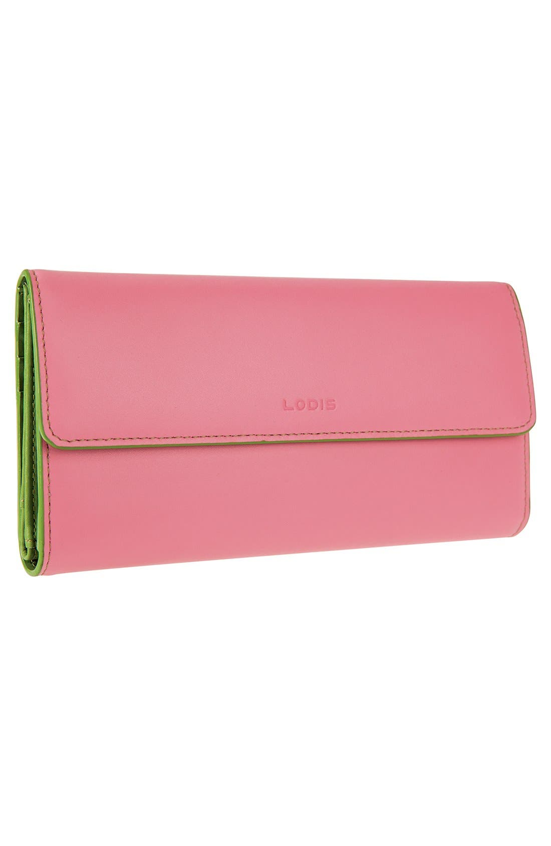 Alternate Image 4  - Lodis 'Audrey' Checkbook Clutch Wallet