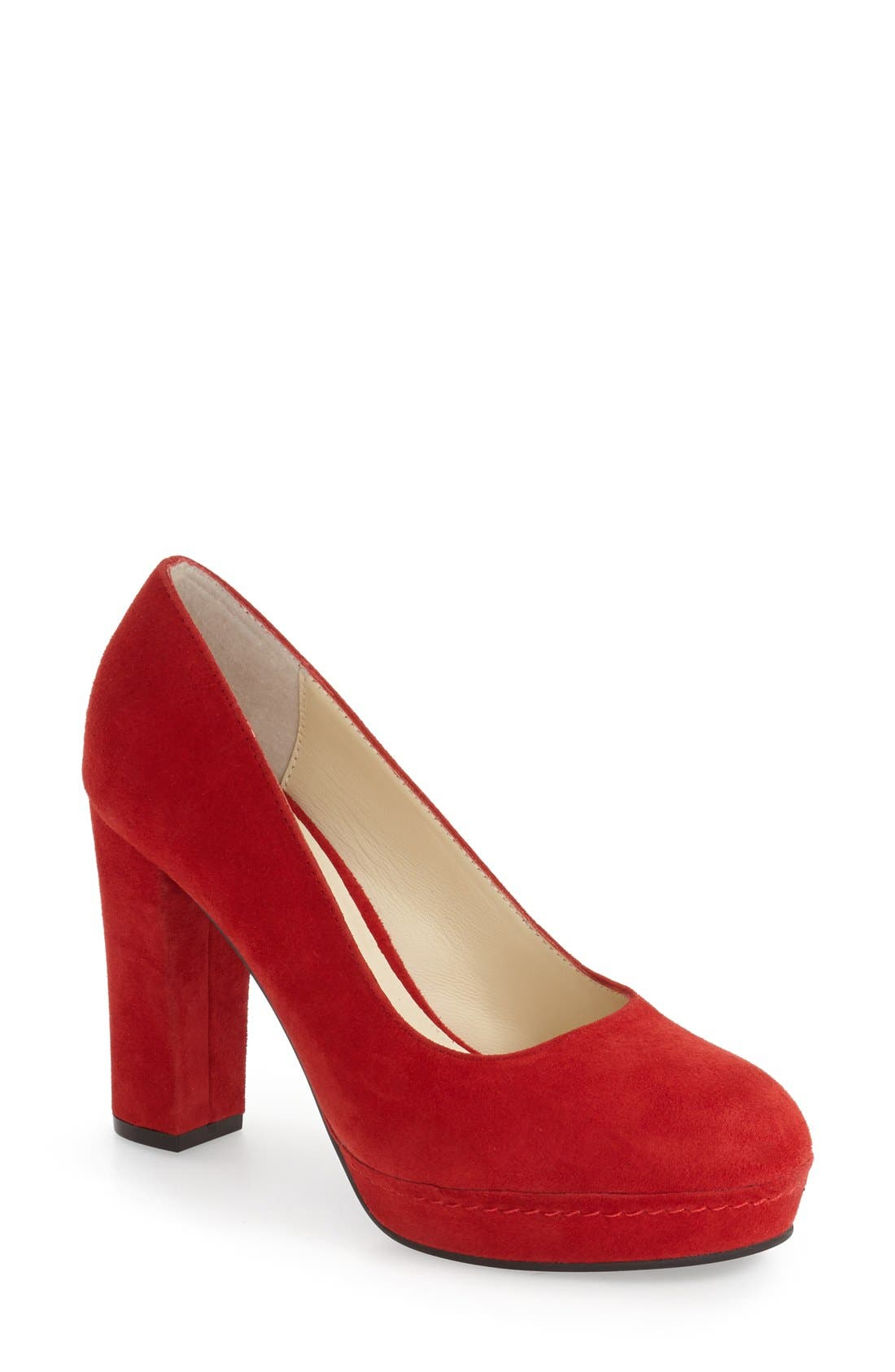 Alternate Image 1 Selected - Bettye Muller 'Moon' Platform Pump (Women)