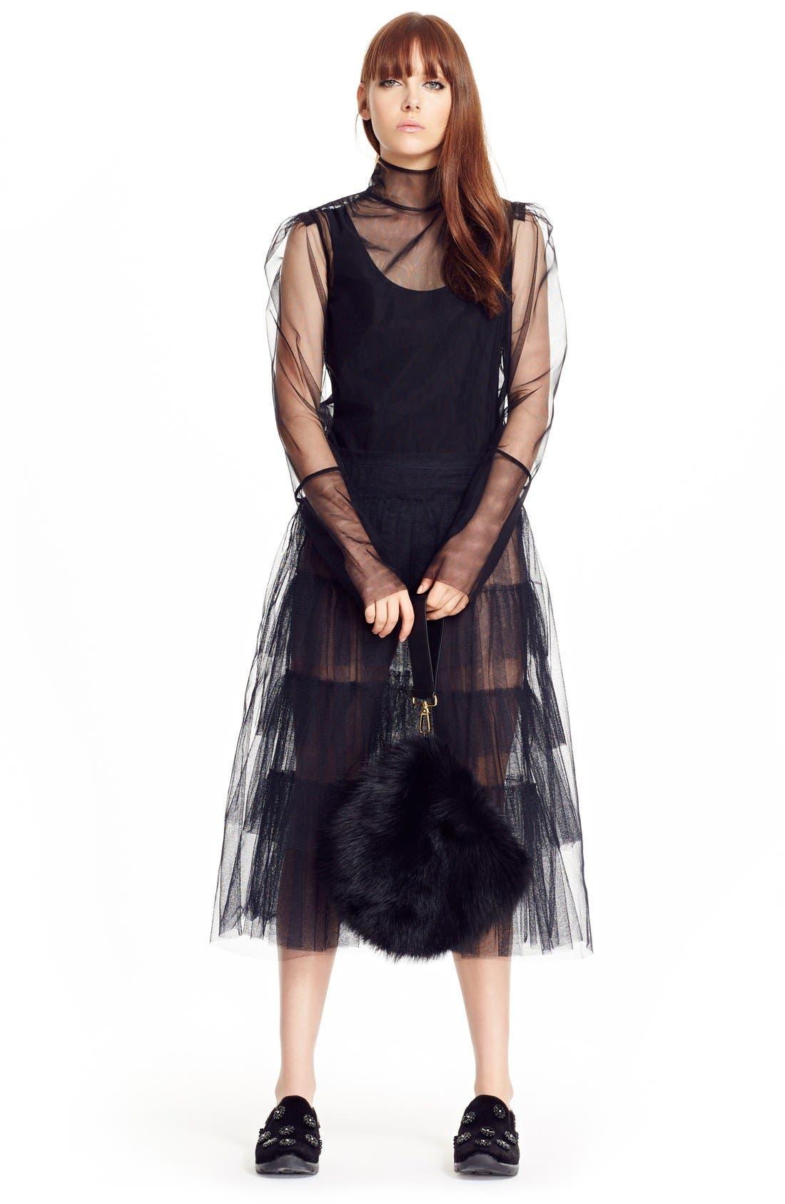 Alternate Image 8  - Simone Rocha Tiered Net Skirt