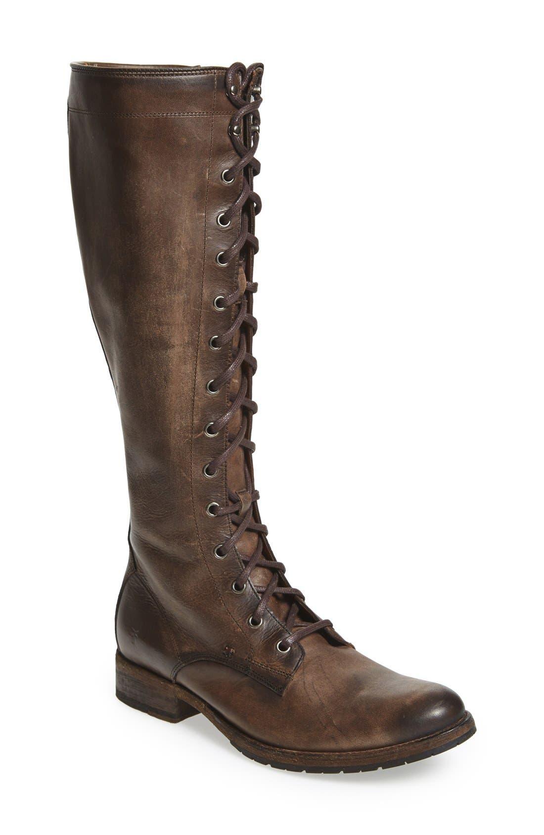 Frye 'Melissa' Tall Lace-Up Boot (Women)
