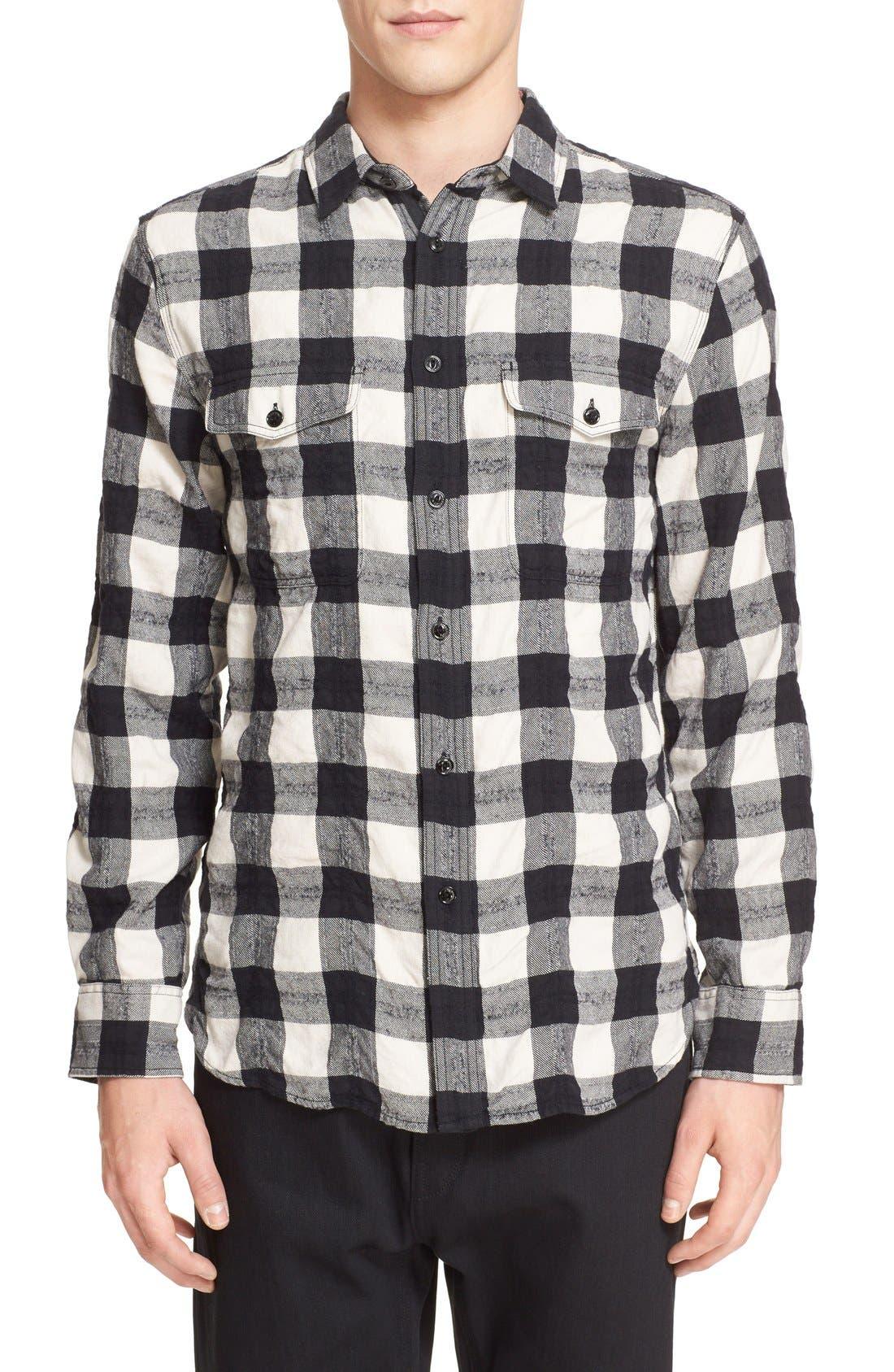 RAG & BONE 'Jack' Plaid Check Shirt