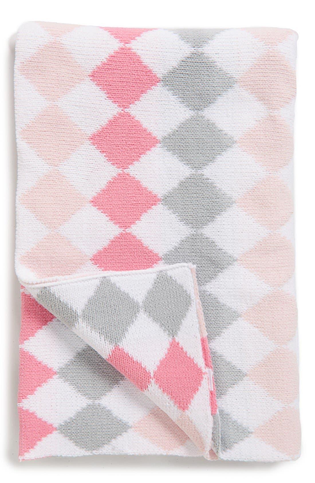 Nordstrom Baby Diamond Pattern Chenille Blanket