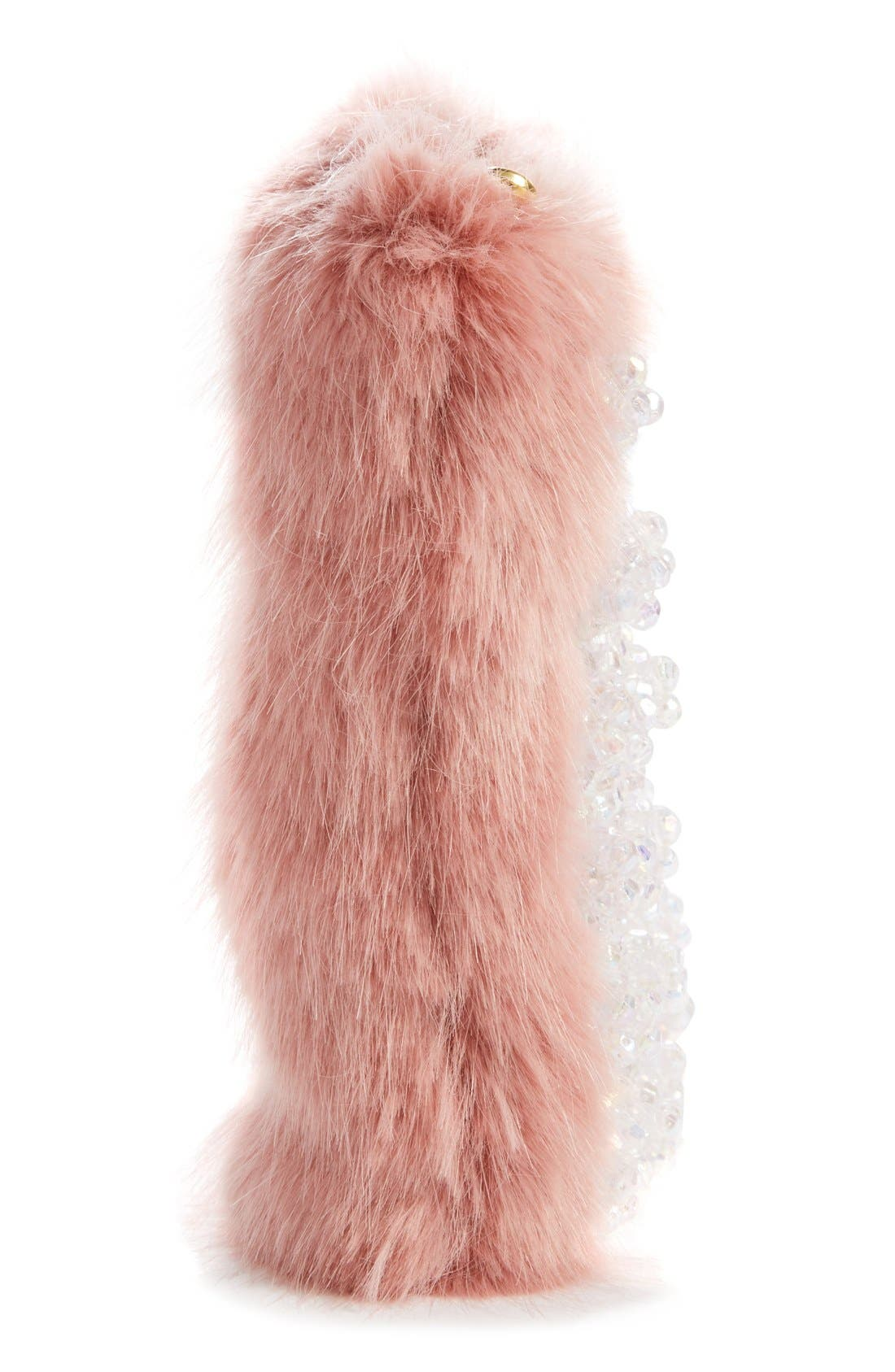 Alternate Image 5  - Shrimps Beaded Faux Fur Clutch