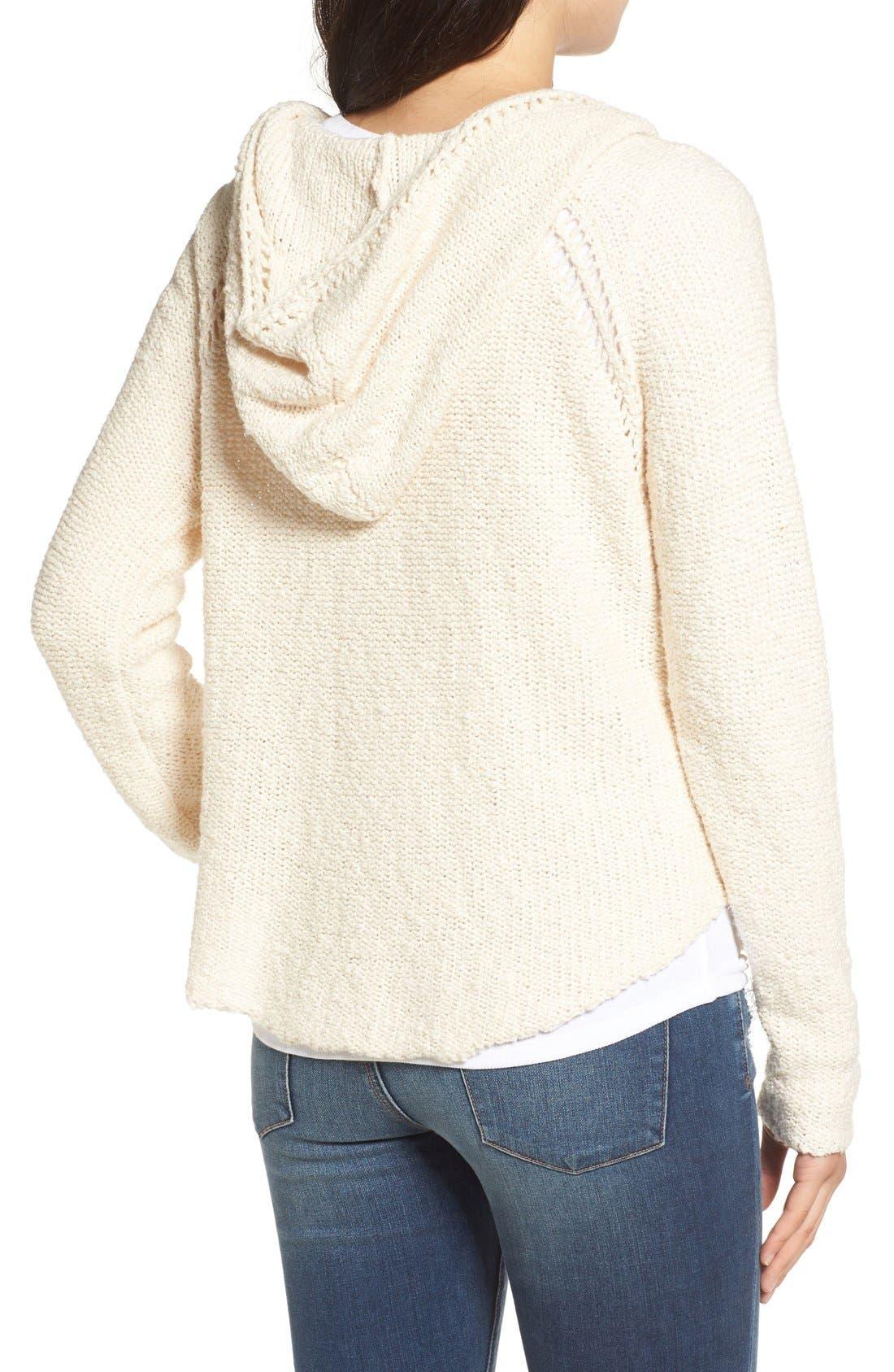 Alternate Image 2  - Billabong 'Seaside Ryder' Hooded Pullover