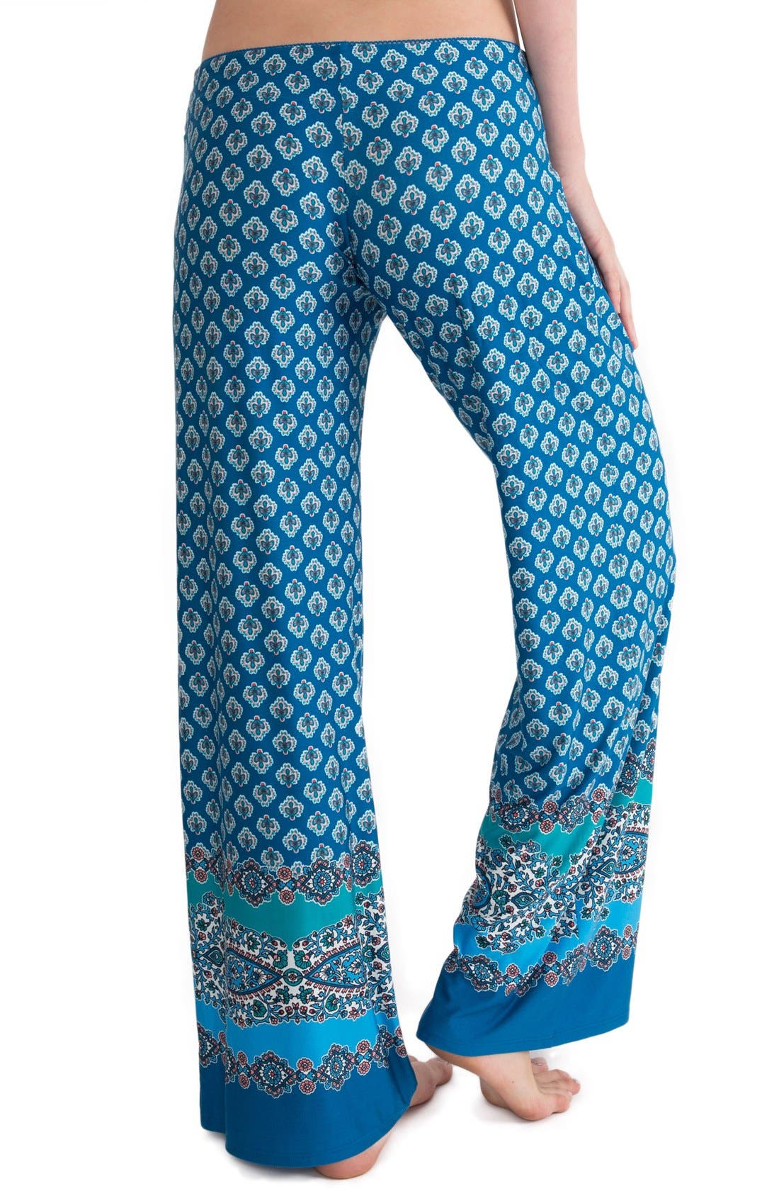 Alternate Image 2  - In Bloom by Jonquil Print Pajama Pants