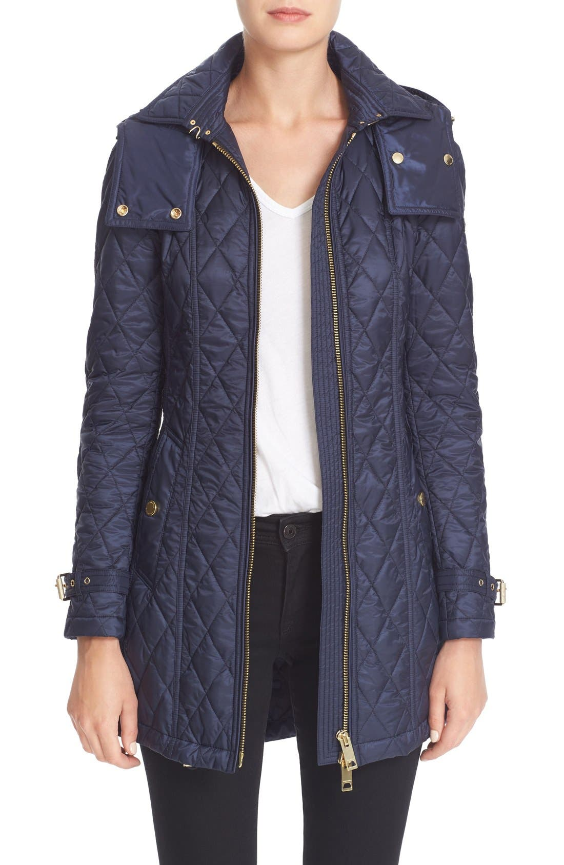 BURBERRY Bellbridge Quilted Trench Parka