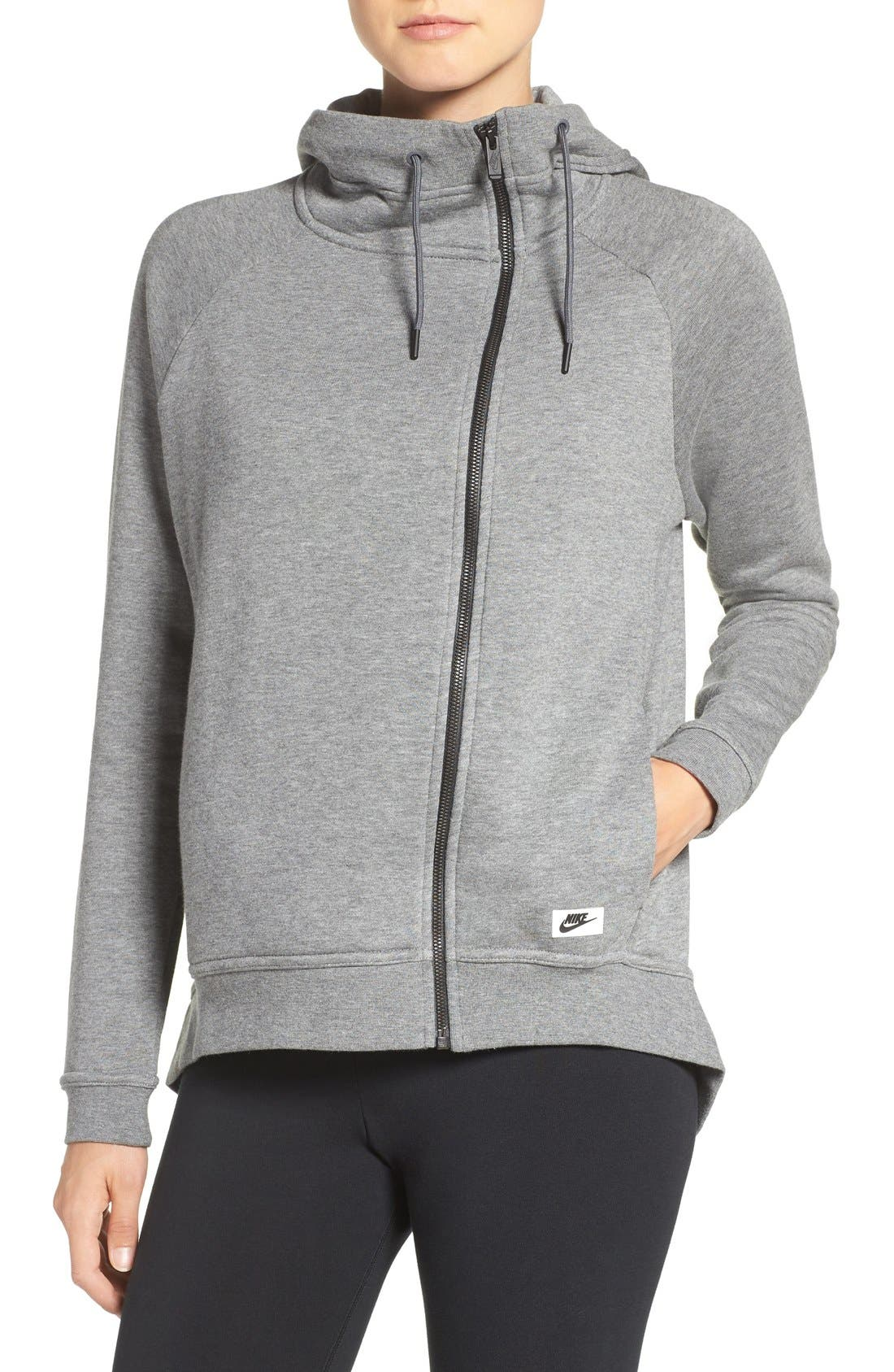Main Image - Nike 'Modern' Double Breasted Hoodie