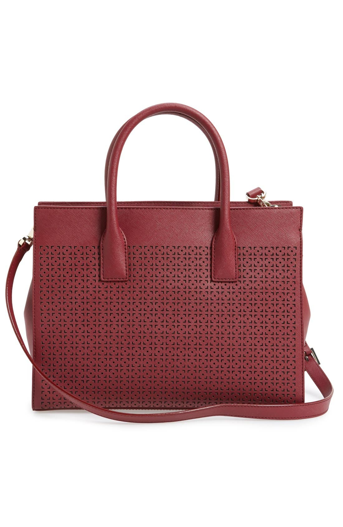 Alternate Image 3  - kate spade new york 'cameron street - candace' perforated satchel