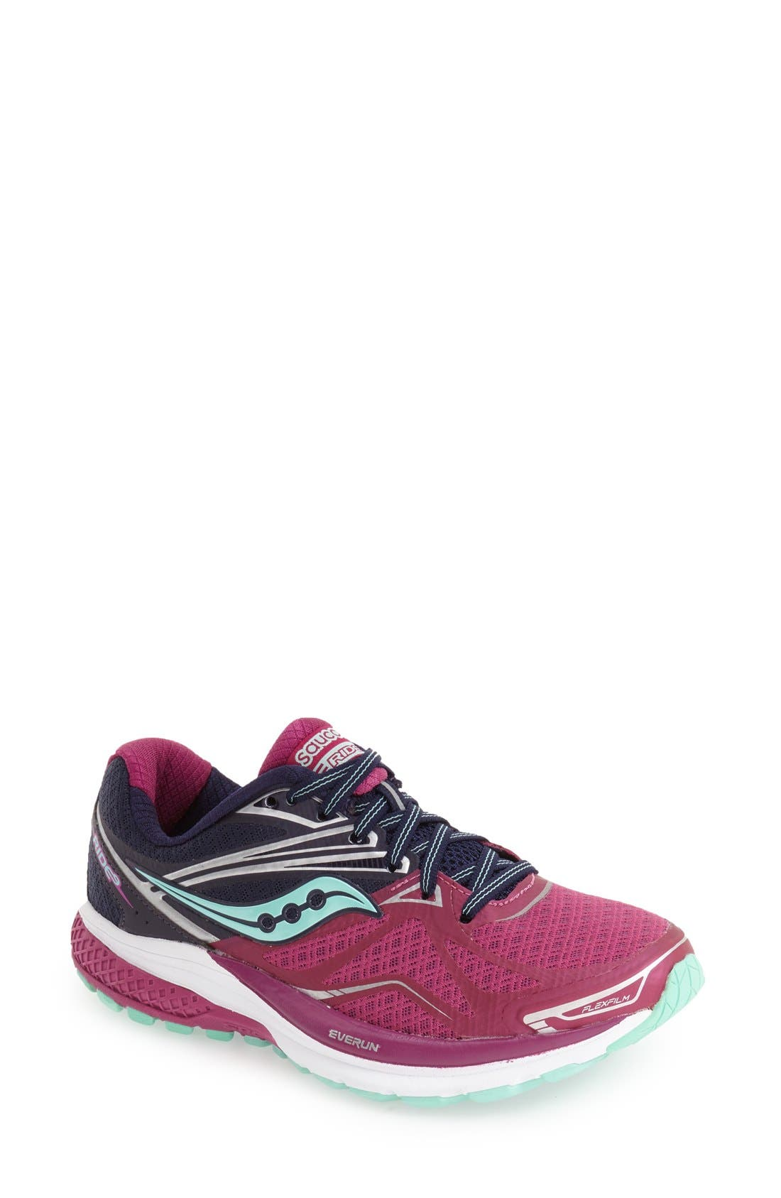 Saucony 'Ride 9' Running Shoe (Women)