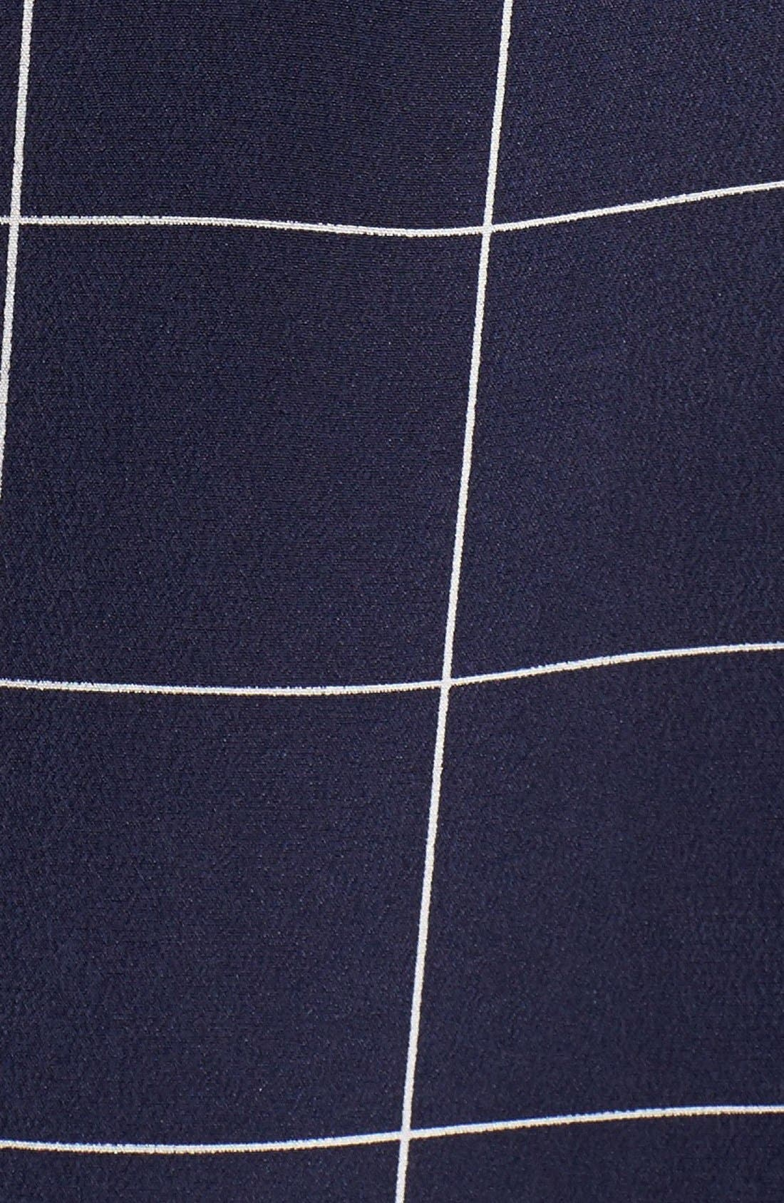 Alternate Image 5  - Madewell 'Monroe' Plaid Lace-Up Silk Blouse