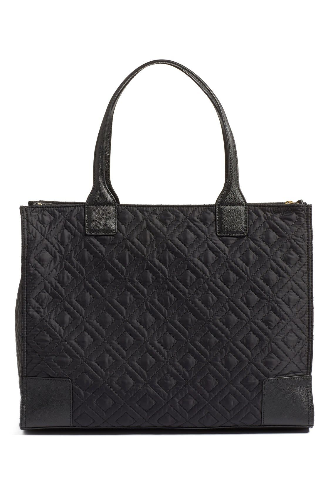 Alternate Image 3  - Tory Burch 'Ella' Packable Quilted Nylon Tote