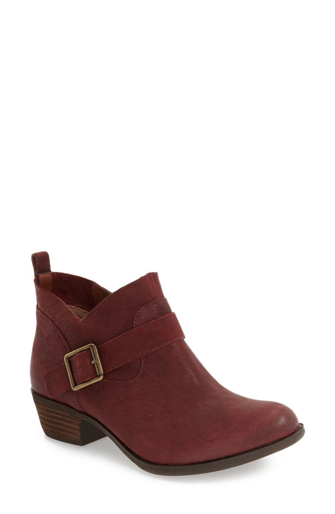 Alternate Image 1 Selected - Lucky Brand 'Boomer' Western Bootie (Women)