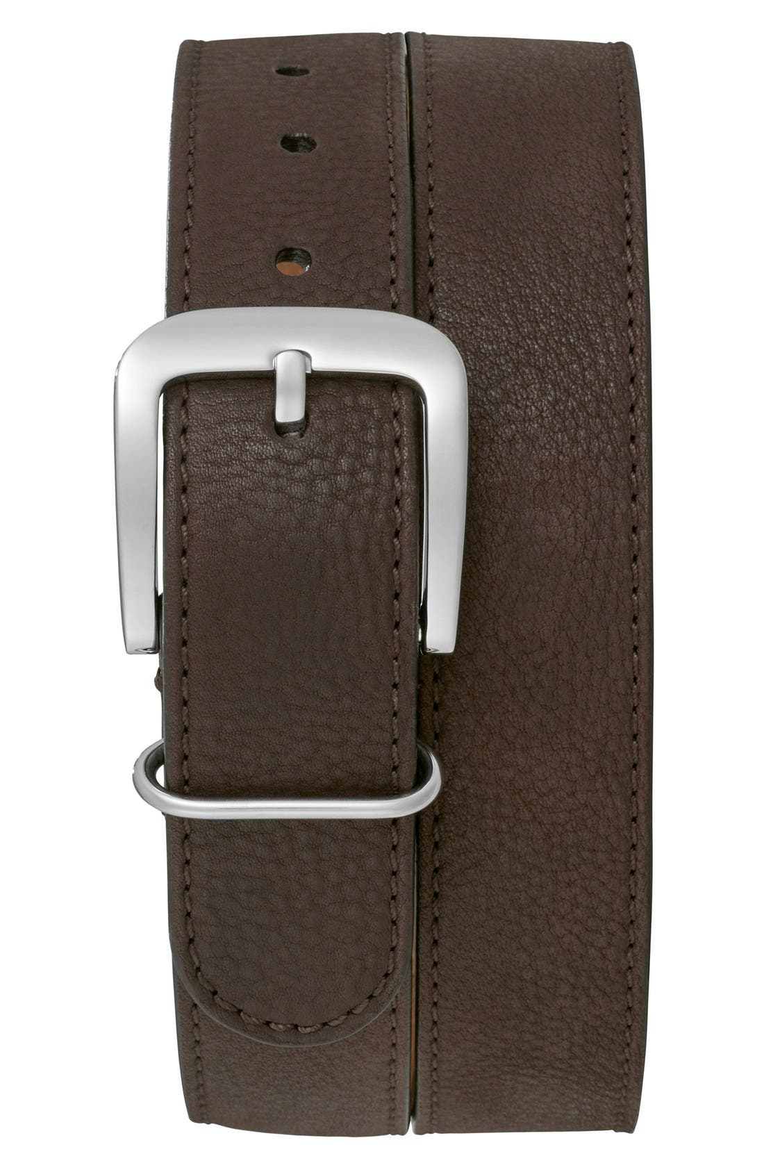 SHINOLA G10 Leather Belt