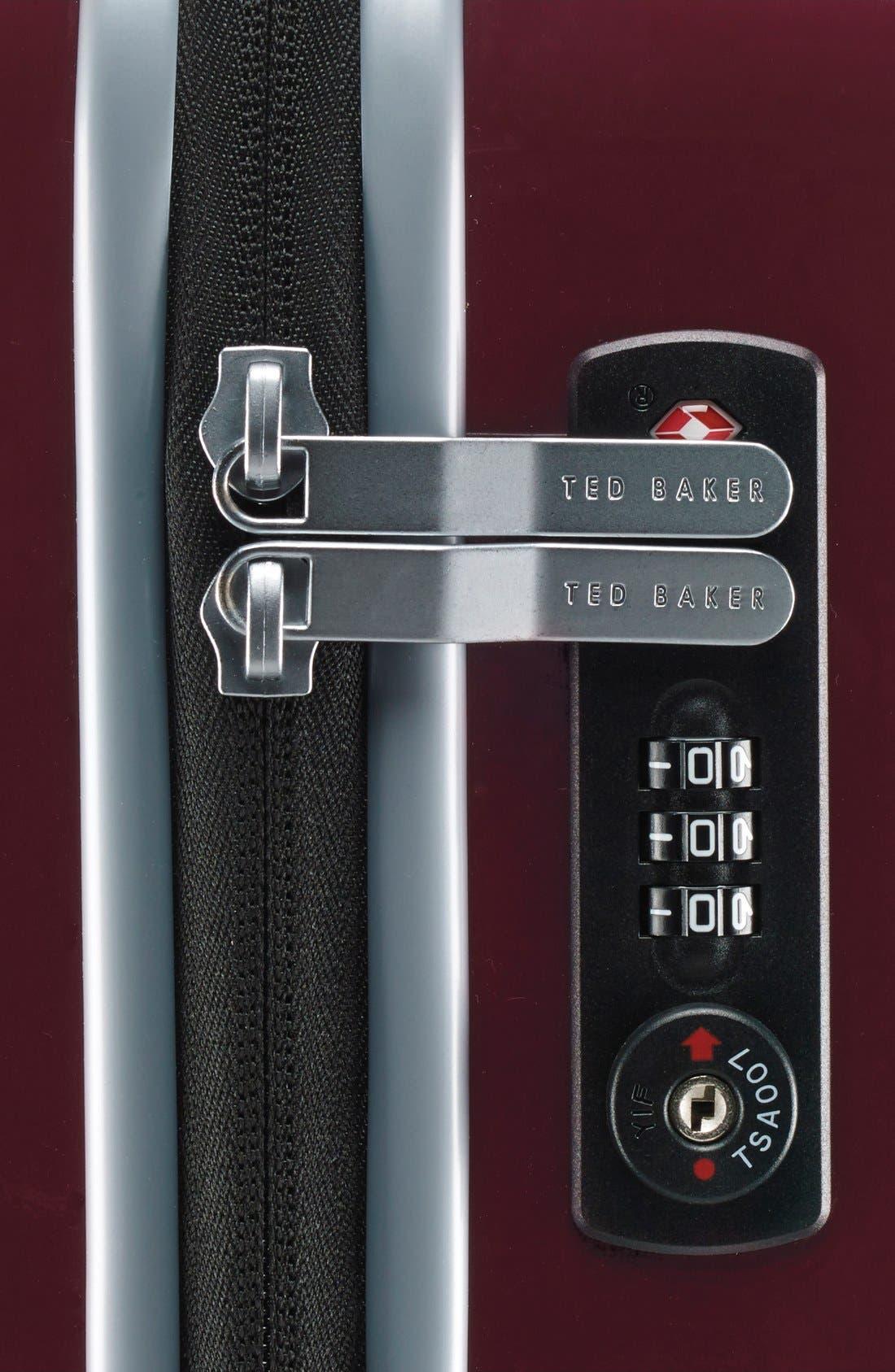 Alternate Image 6  - Ted Baker London 'Large Burgundy' Four Wheel Suitcase (31 Inch)