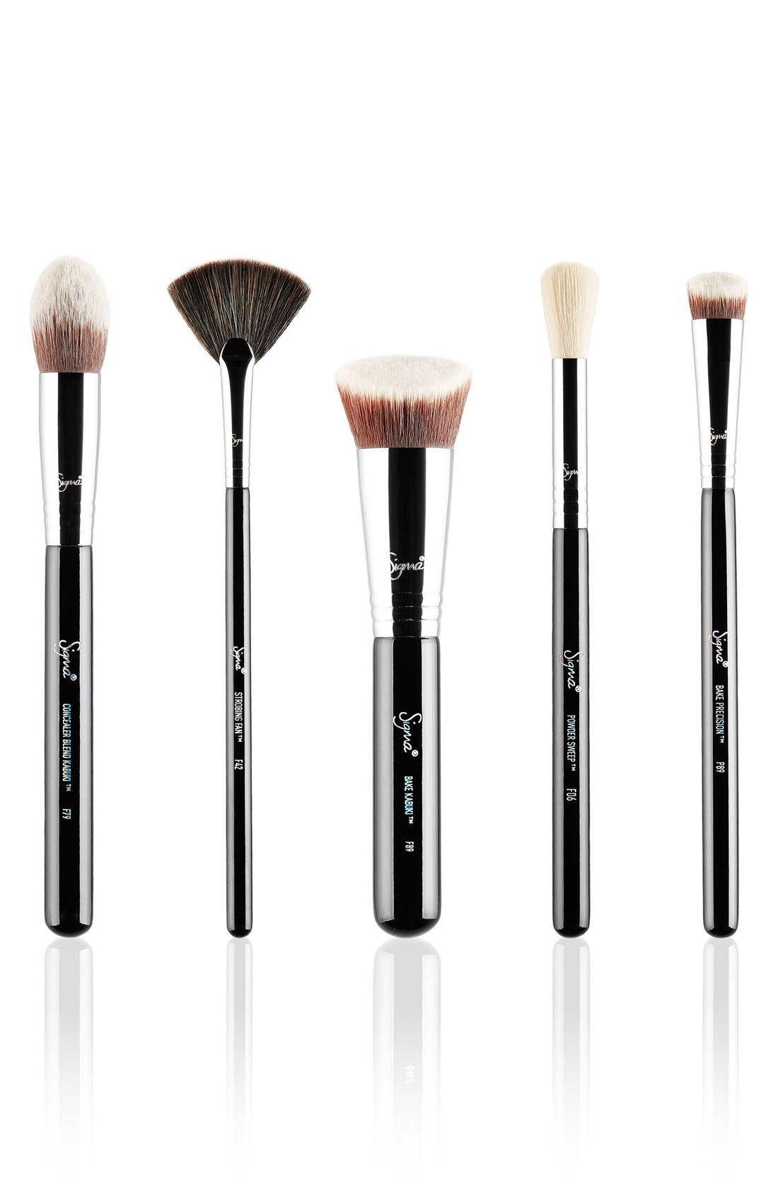 Sigma Beauty 'Baking & Strobing' Brush Set ($106 Value)