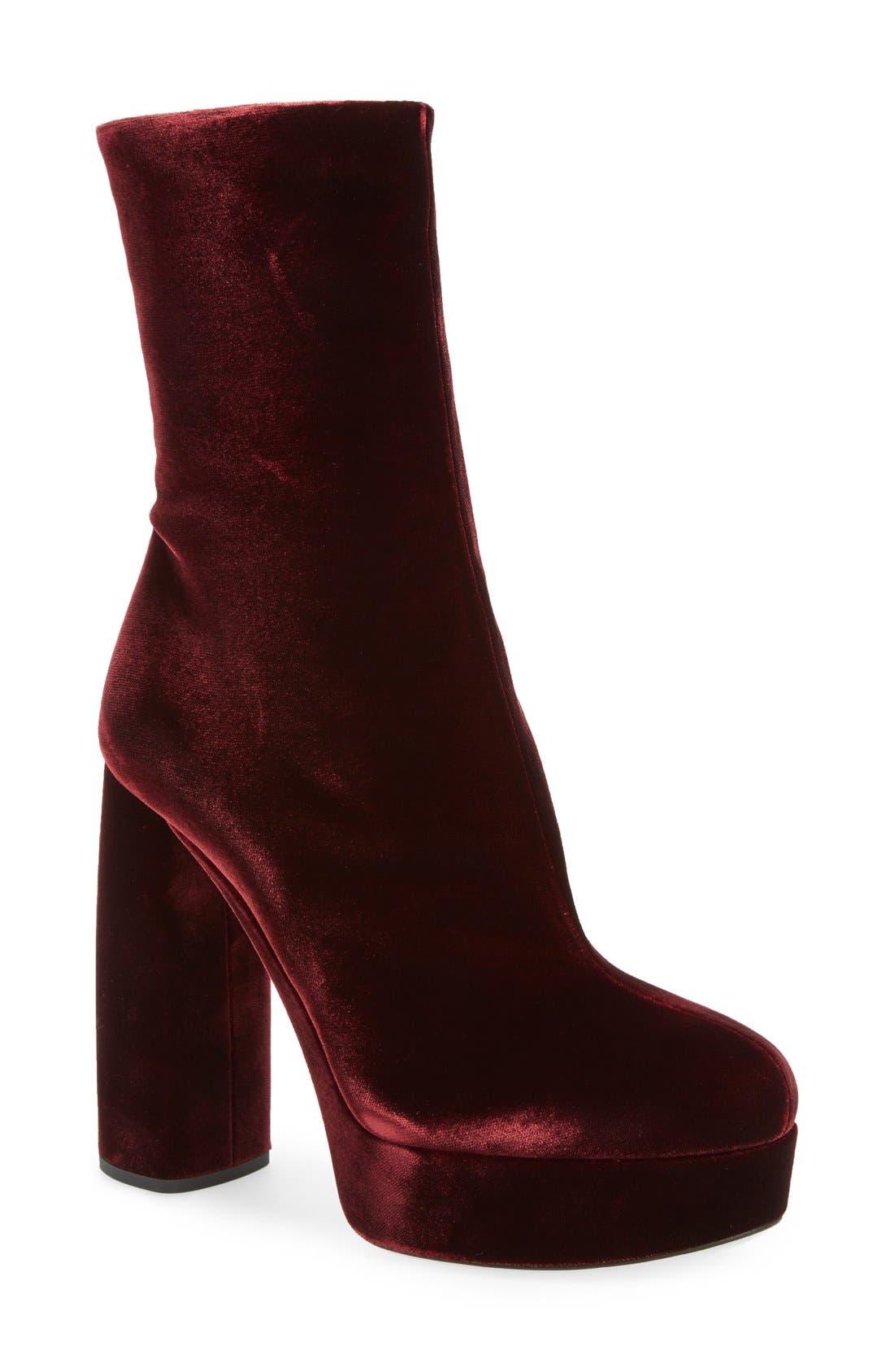 Main Image - Miu Miu Platform Block Heel Boot (Women)