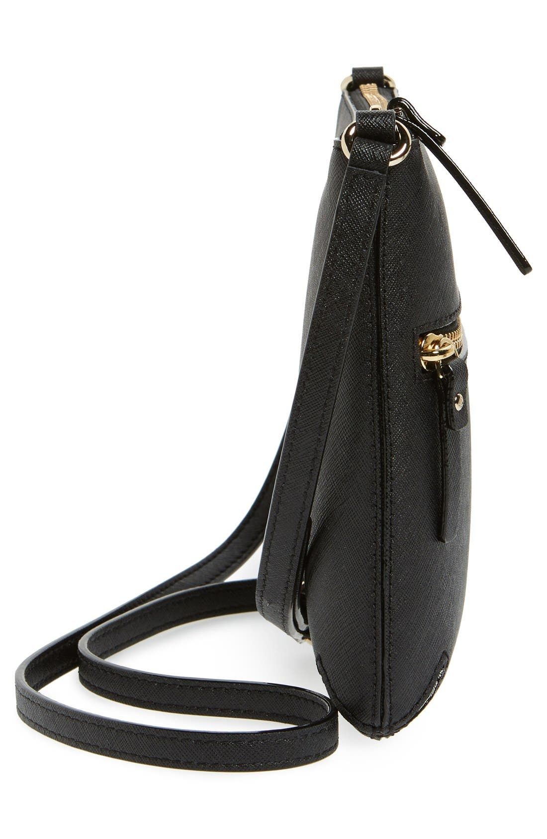 Alternate Image 5  - kate spade new york 'tenley' saffiano leather crossbody bag