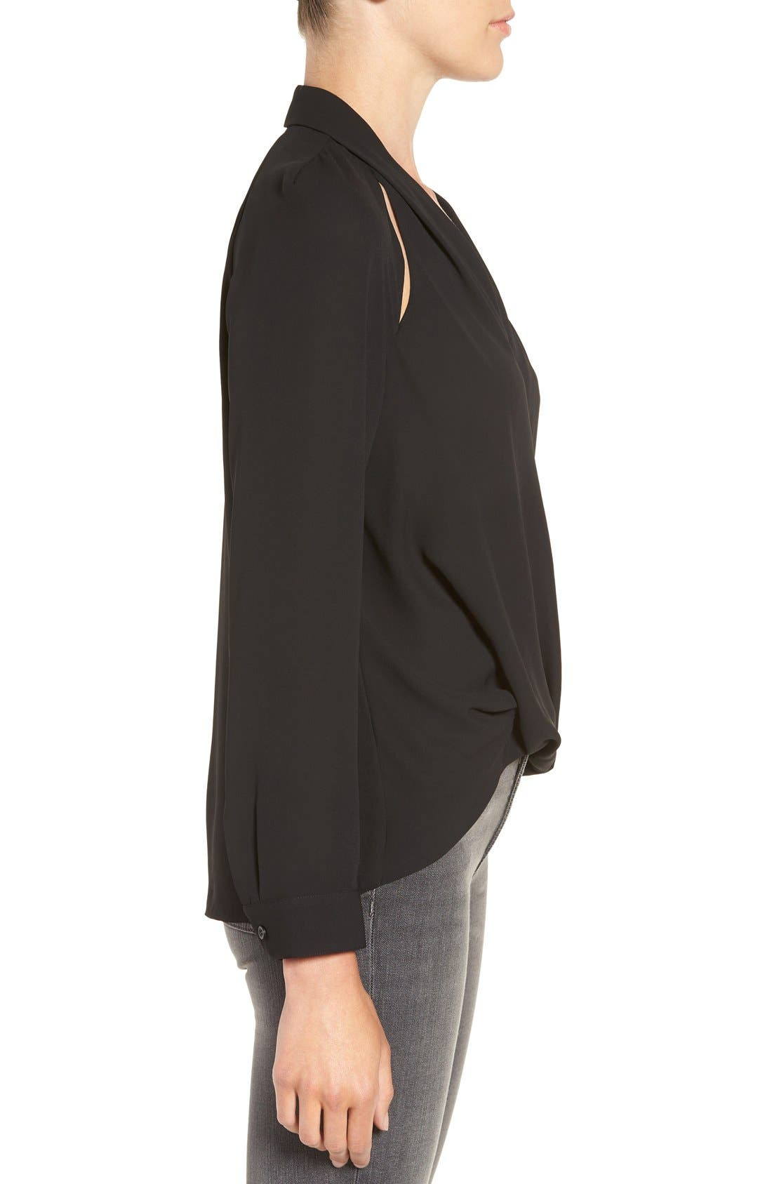 Alternate Image 3  - Trouvé Cutout Surplice Top