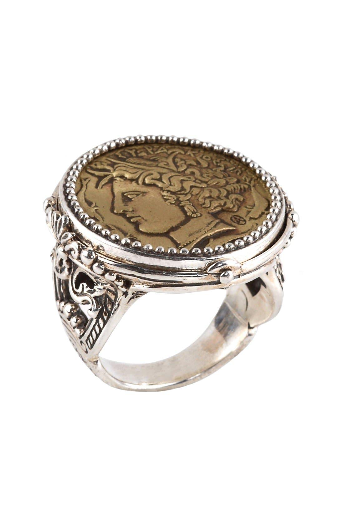 Konstantino 'Arethusa' Coin Ring
