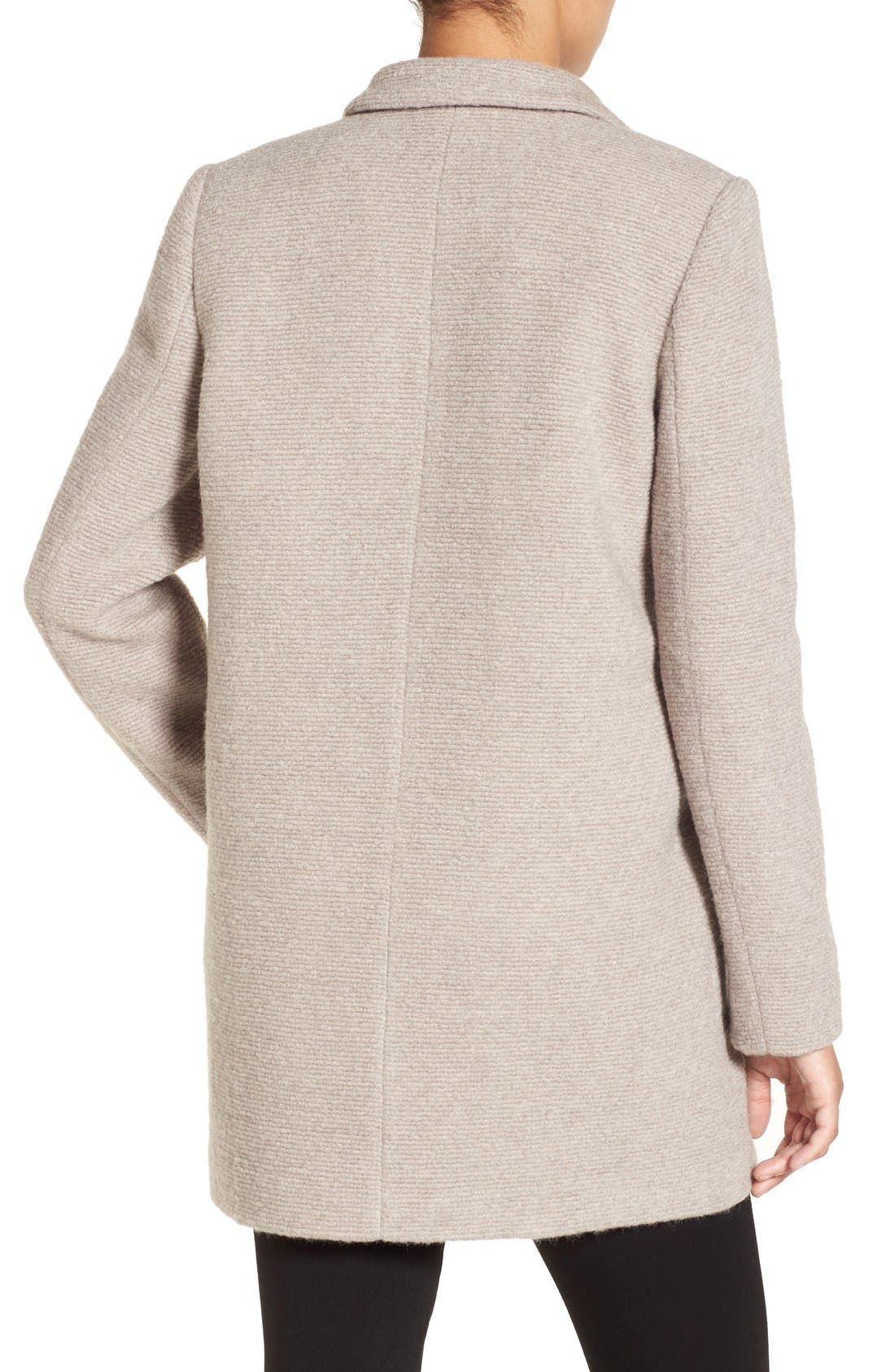 Alternate Image 2  - Kenneth Cole New York Bouclé Coat