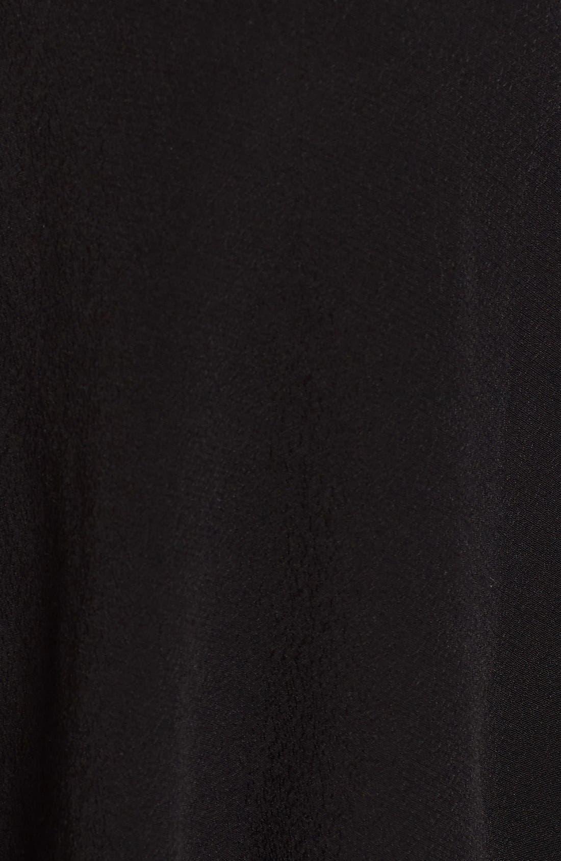 Alternate Image 5  - ASTR Crochet Trim Bell Sleeve Top