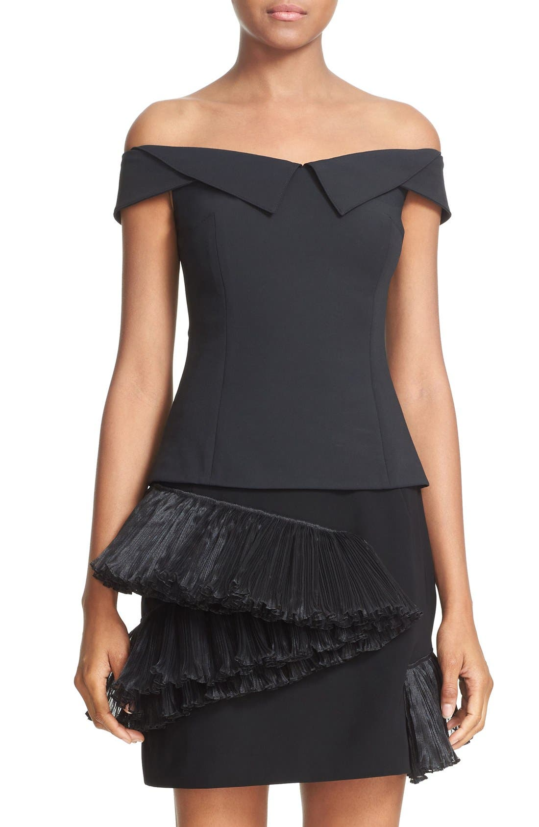 Alternate Image 1 Selected - Opening Ceremony 'William' Off the Shoulder Top